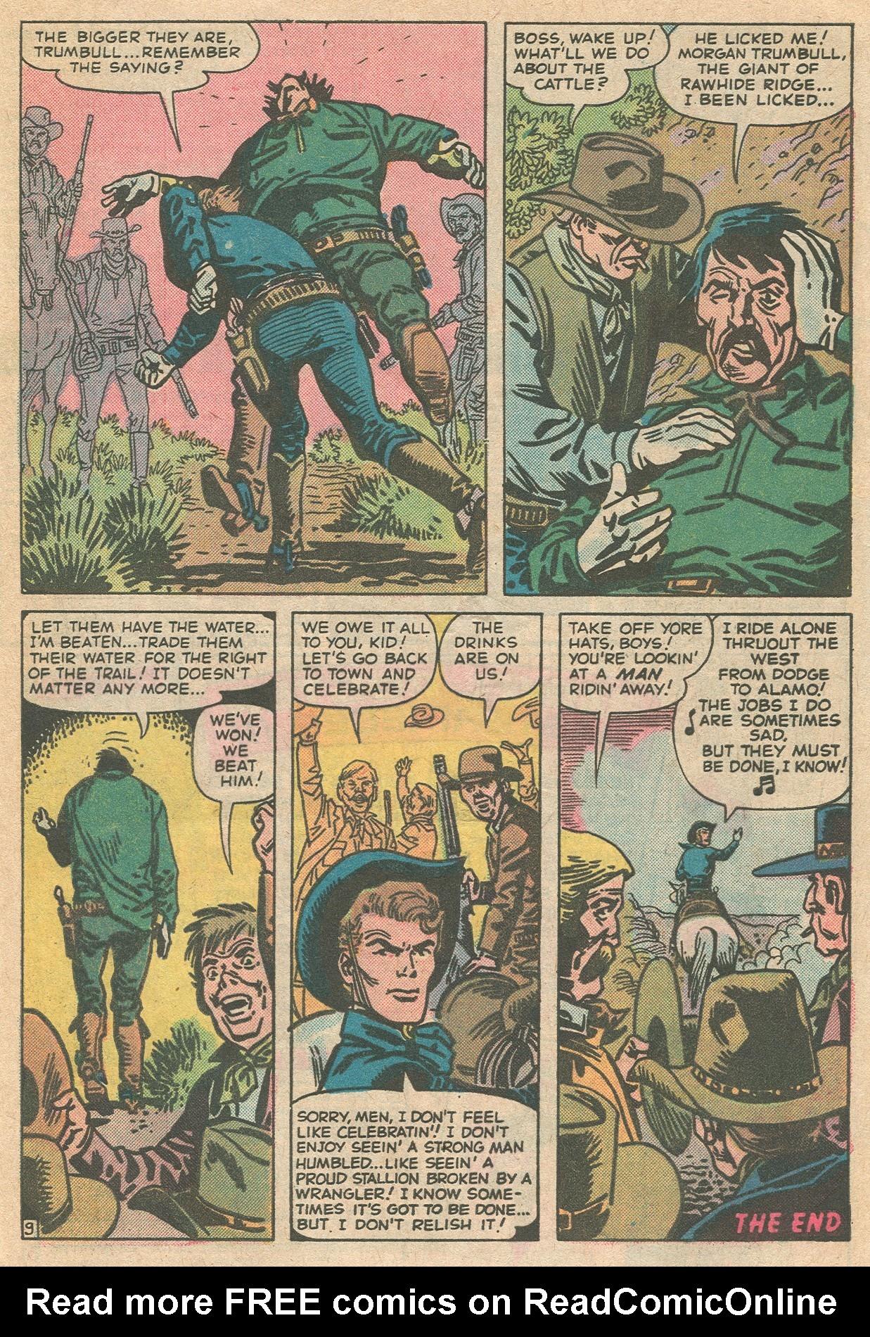 Read online Two-Gun Kid comic -  Issue #124 - 33