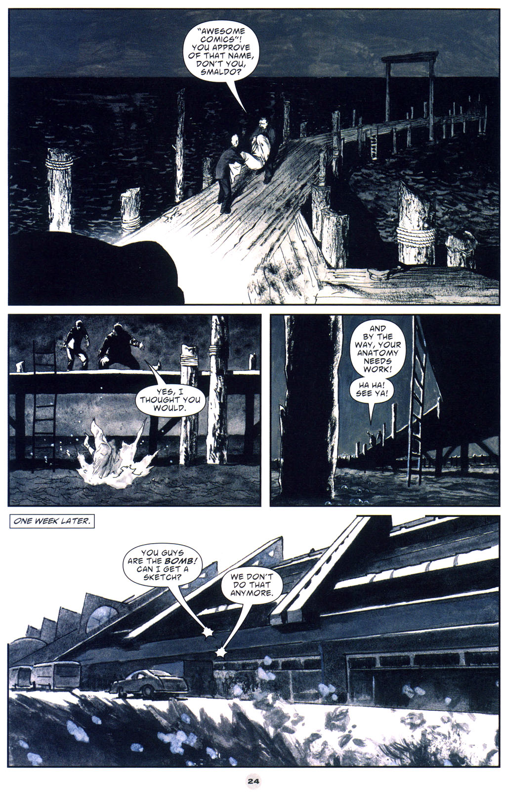 Read online Solo (2004) comic -  Issue #9 - 25