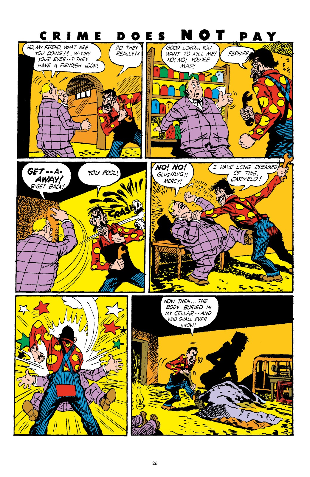 Read online Crime Does Not Pay Archives comic -  Issue # TPB 4 (Part 1) - 26