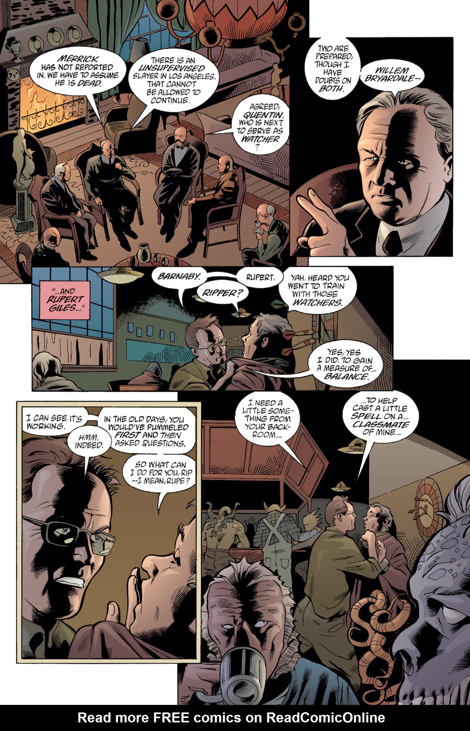 Read online Buffy the Vampire Slayer: Omnibus comic -  Issue # TPB 1 - 114