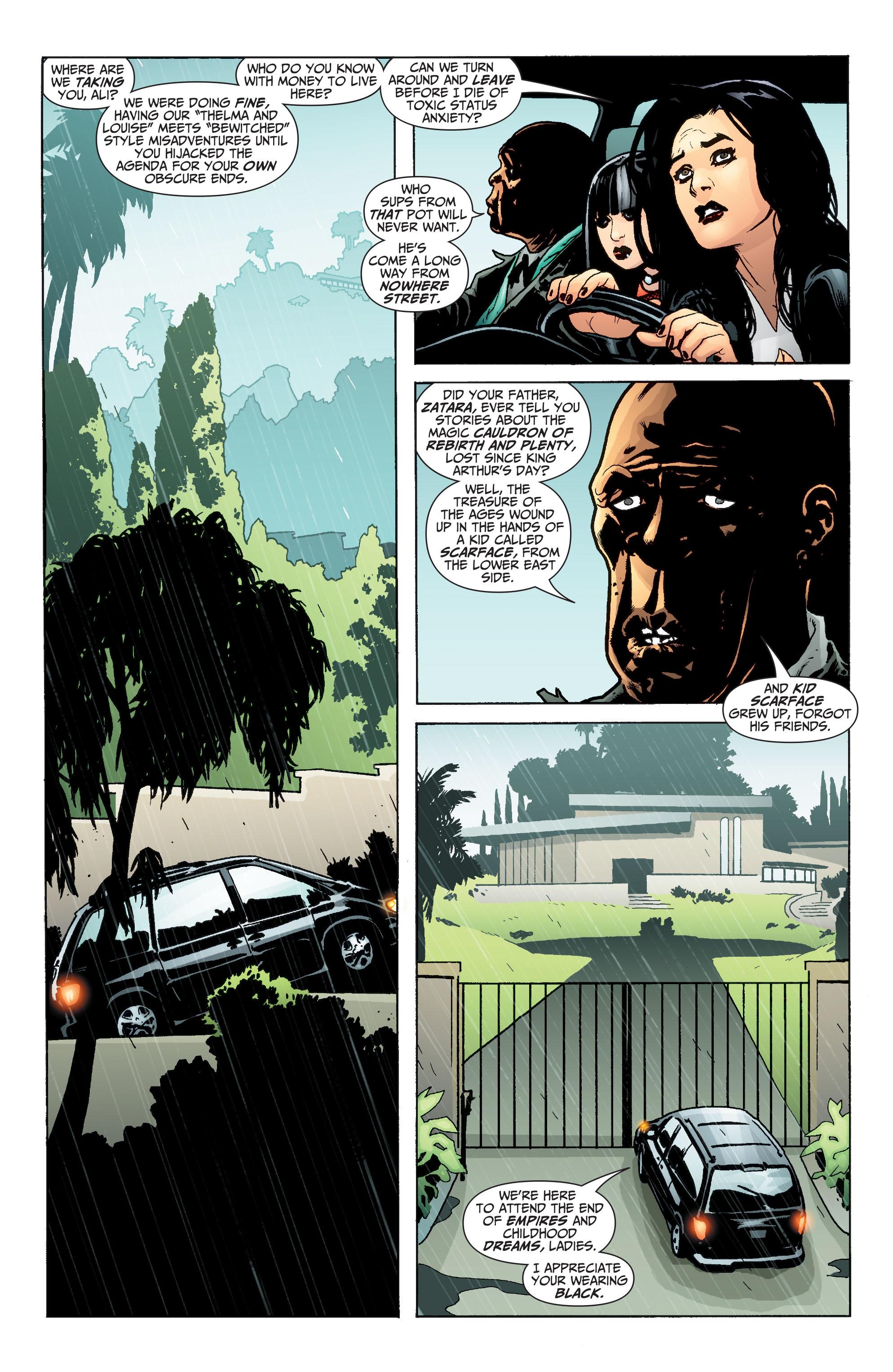 Read online Seven Soldiers: Zatanna comic -  Issue #3 - 10