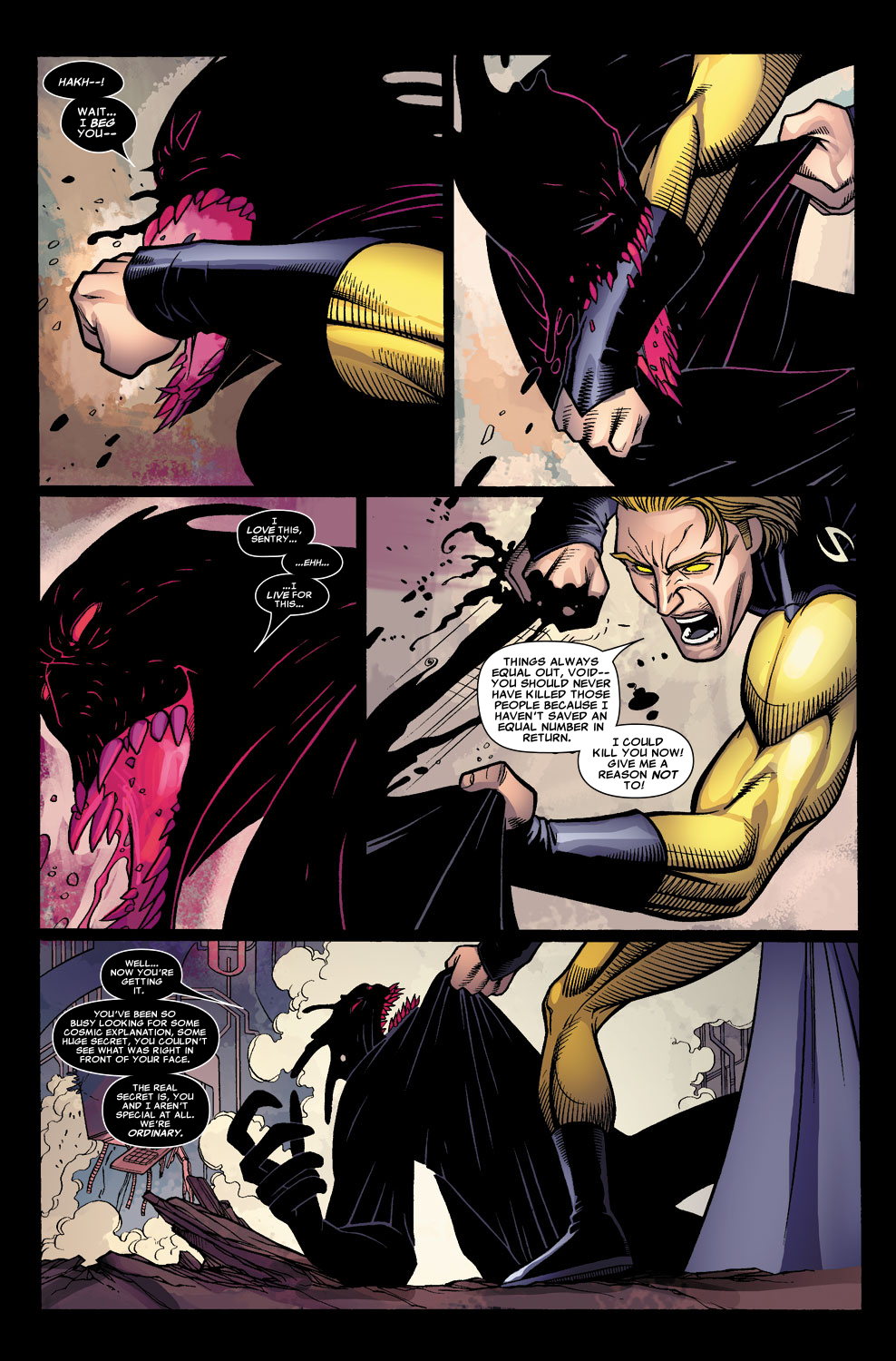 Read online Sentry (2006) comic -  Issue #8 - 15