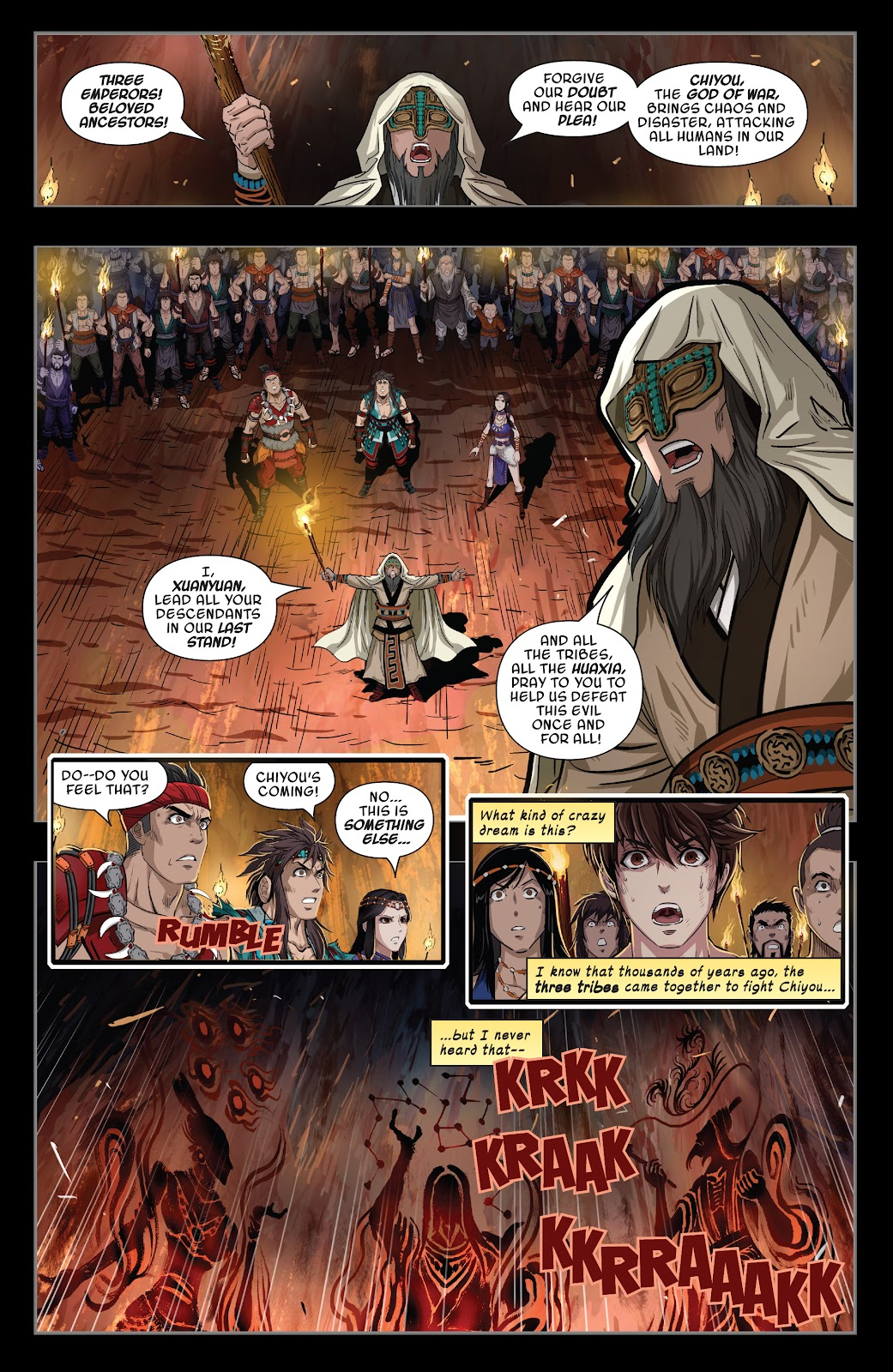 Read online Sword Master comic -  Issue #4 - 4