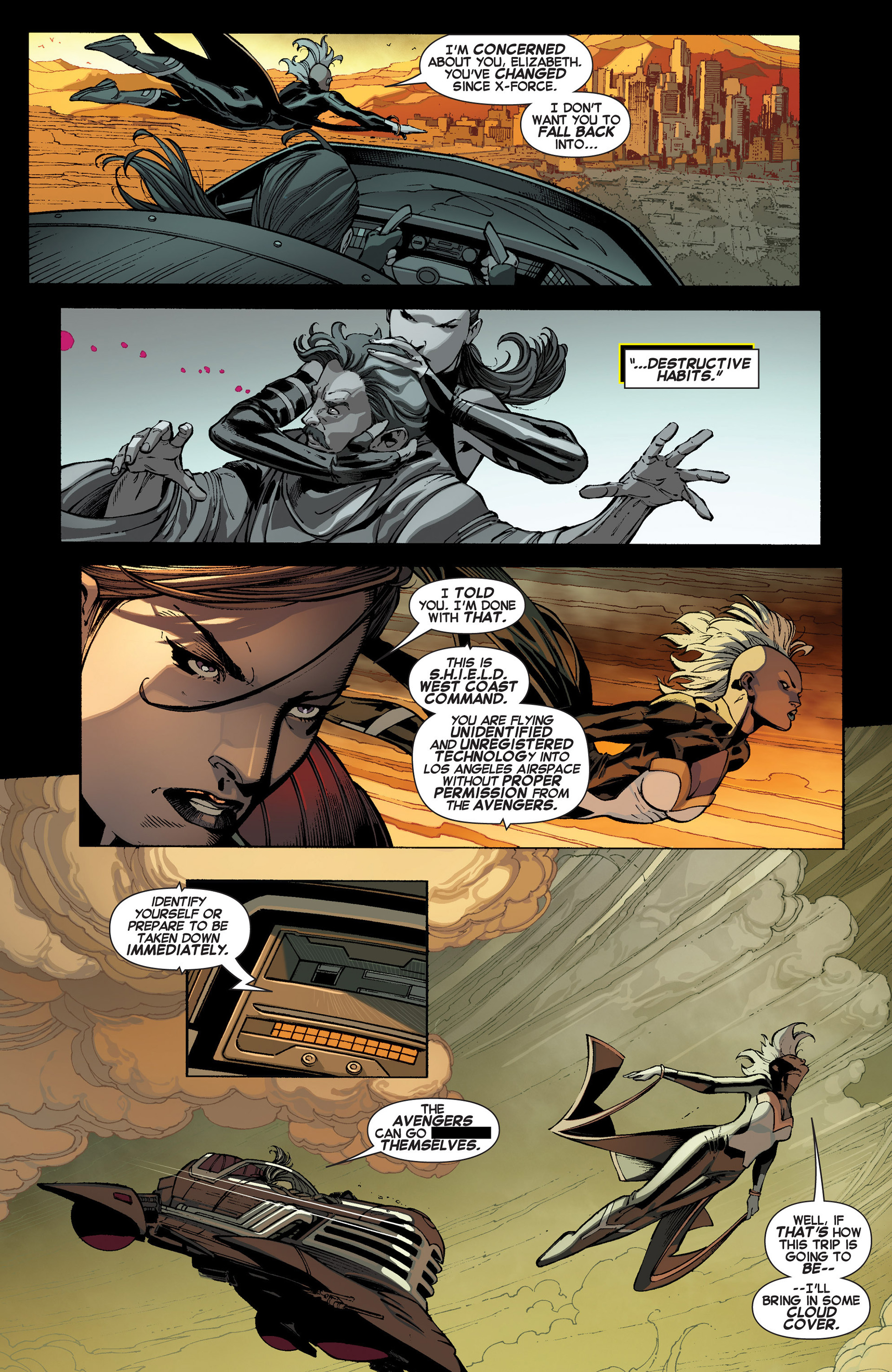 Read online Uncanny X-Force (2013) comic -  Issue #1 - 5