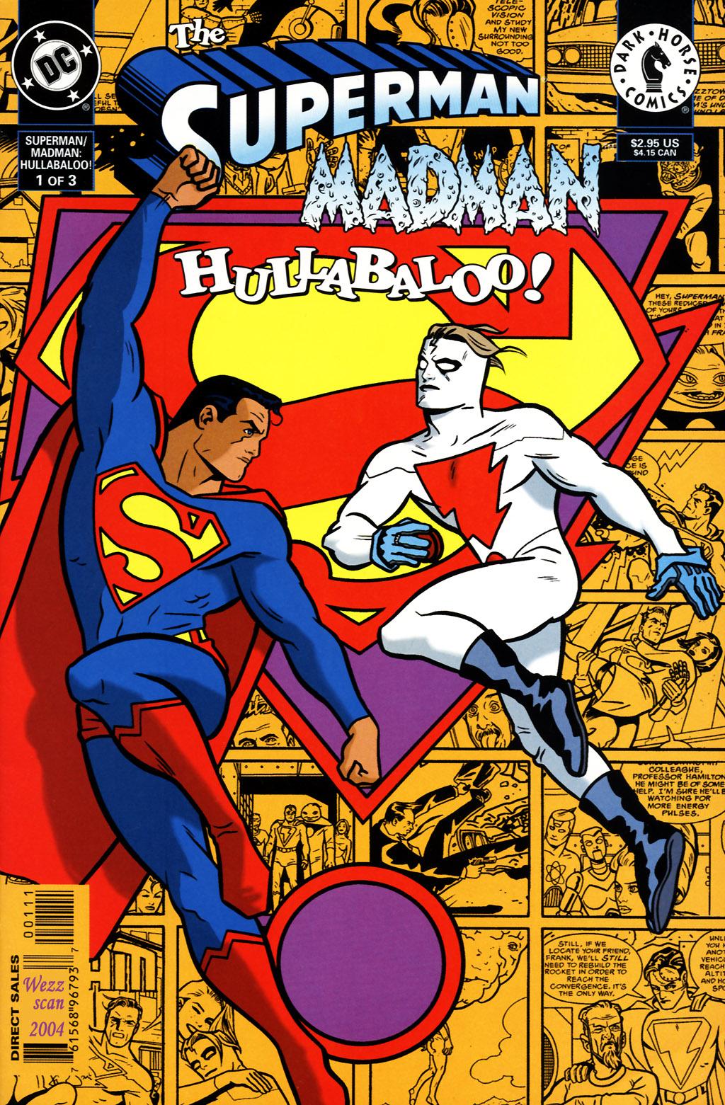 The Superman/Madman: Hullabaloo 1 Page 1