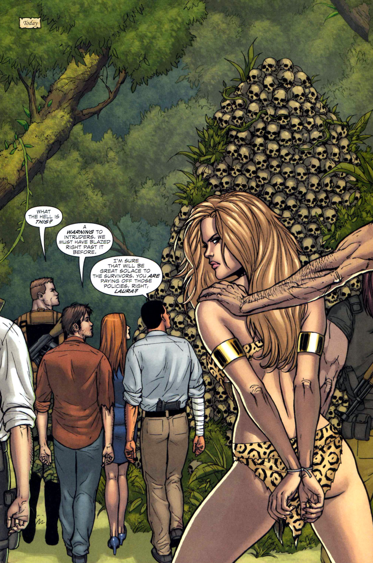 Read online Sheena, Queen of the Jungle comic -  Issue #5 - 5