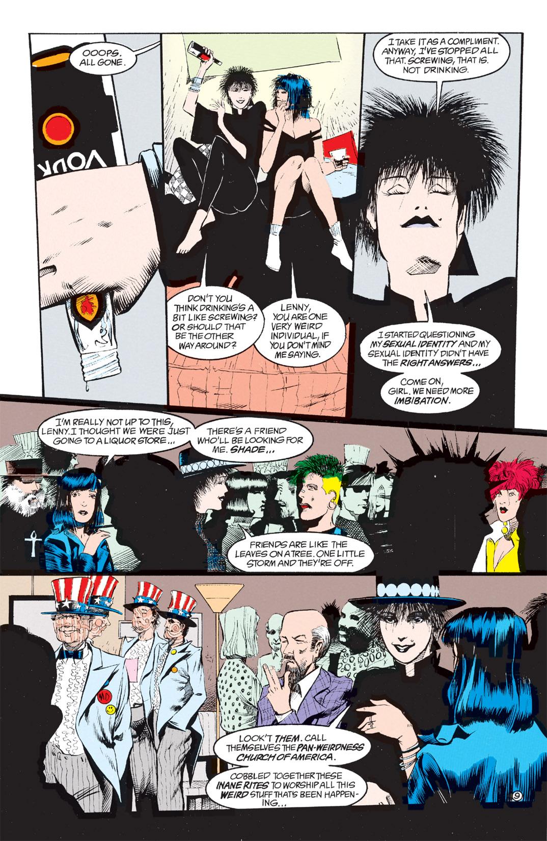 Read online Shade, the Changing Man comic -  Issue #8 - 8