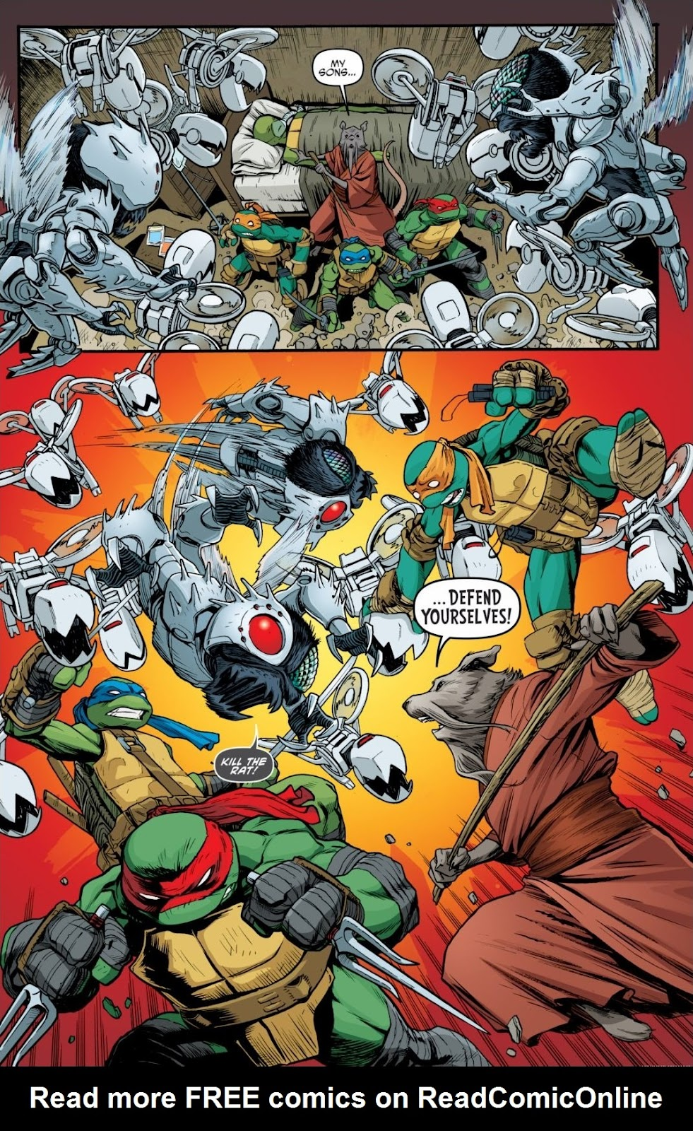Read online Teenage Mutant Ninja Turtles: The IDW Collection comic -  Issue # TPB 6 (Part 2) - 94