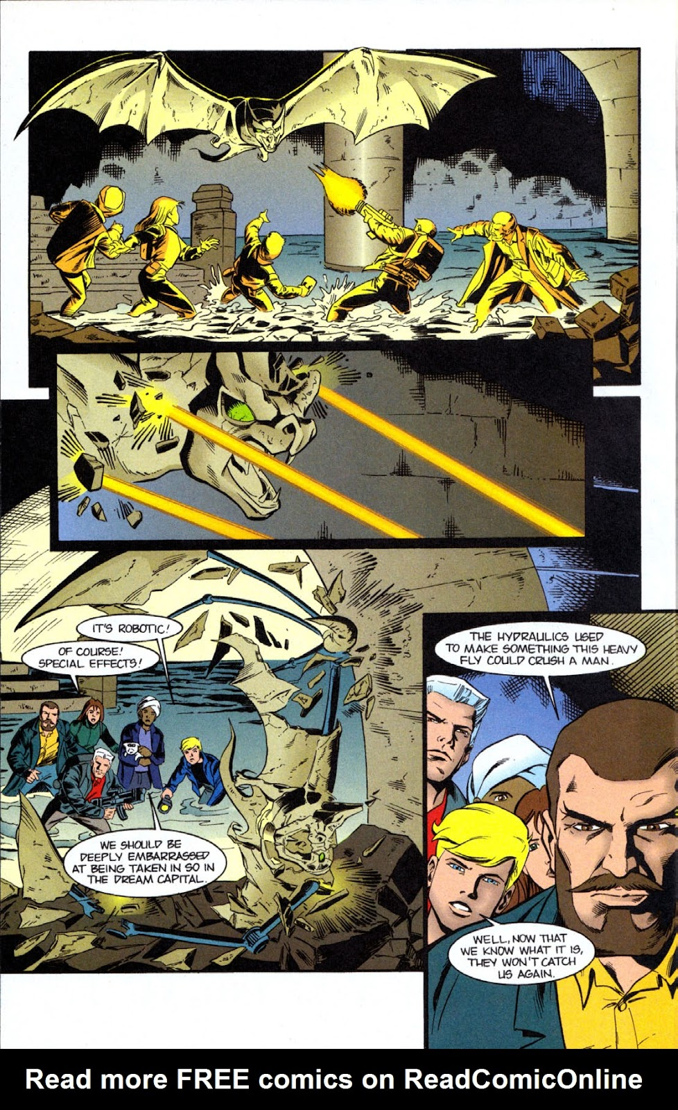 Read online The Real Adventures of Jonny Quest comic -  Issue #7 - 12
