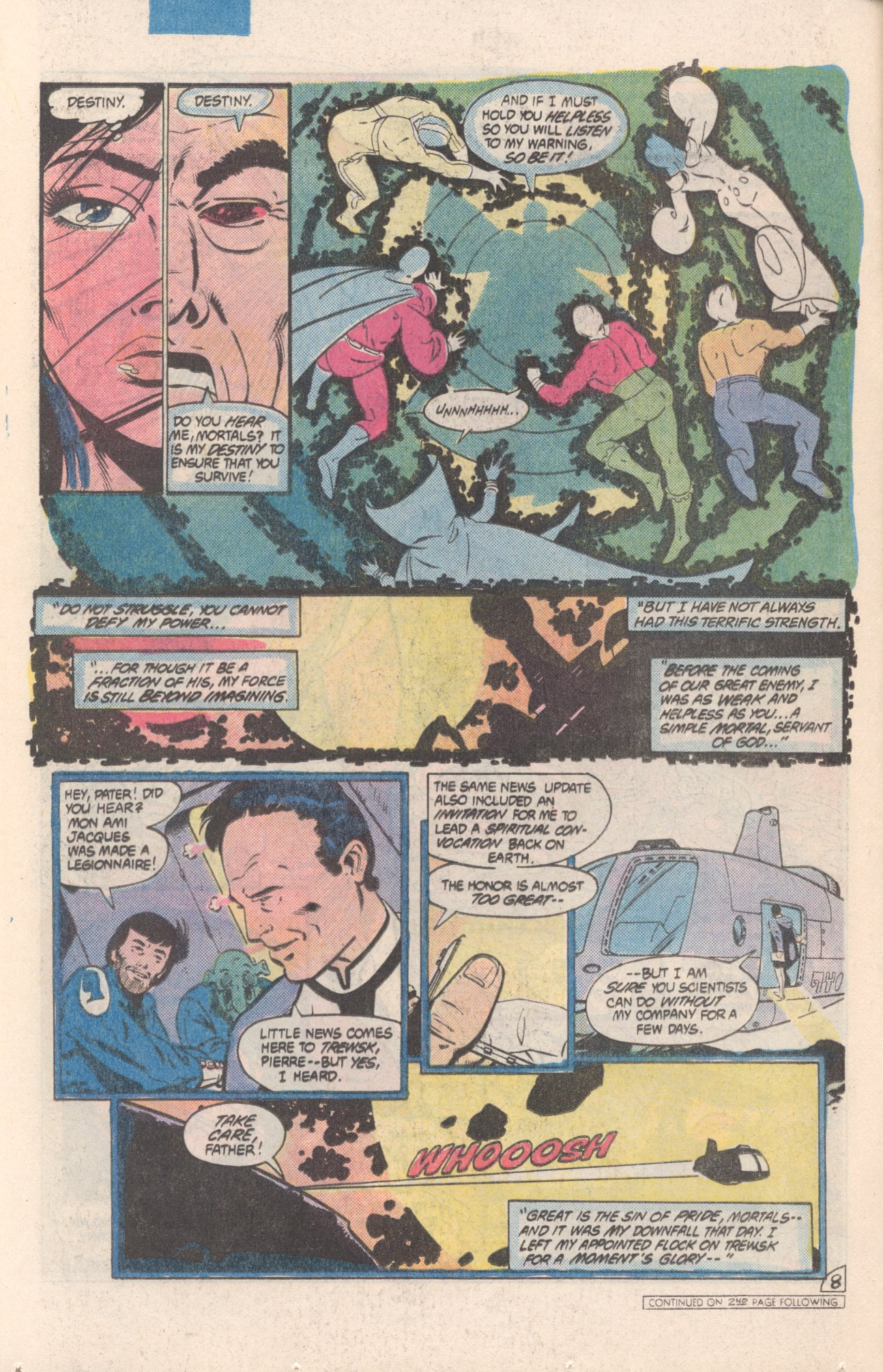 Legion of Super-Heroes (1980) 308 Page 8