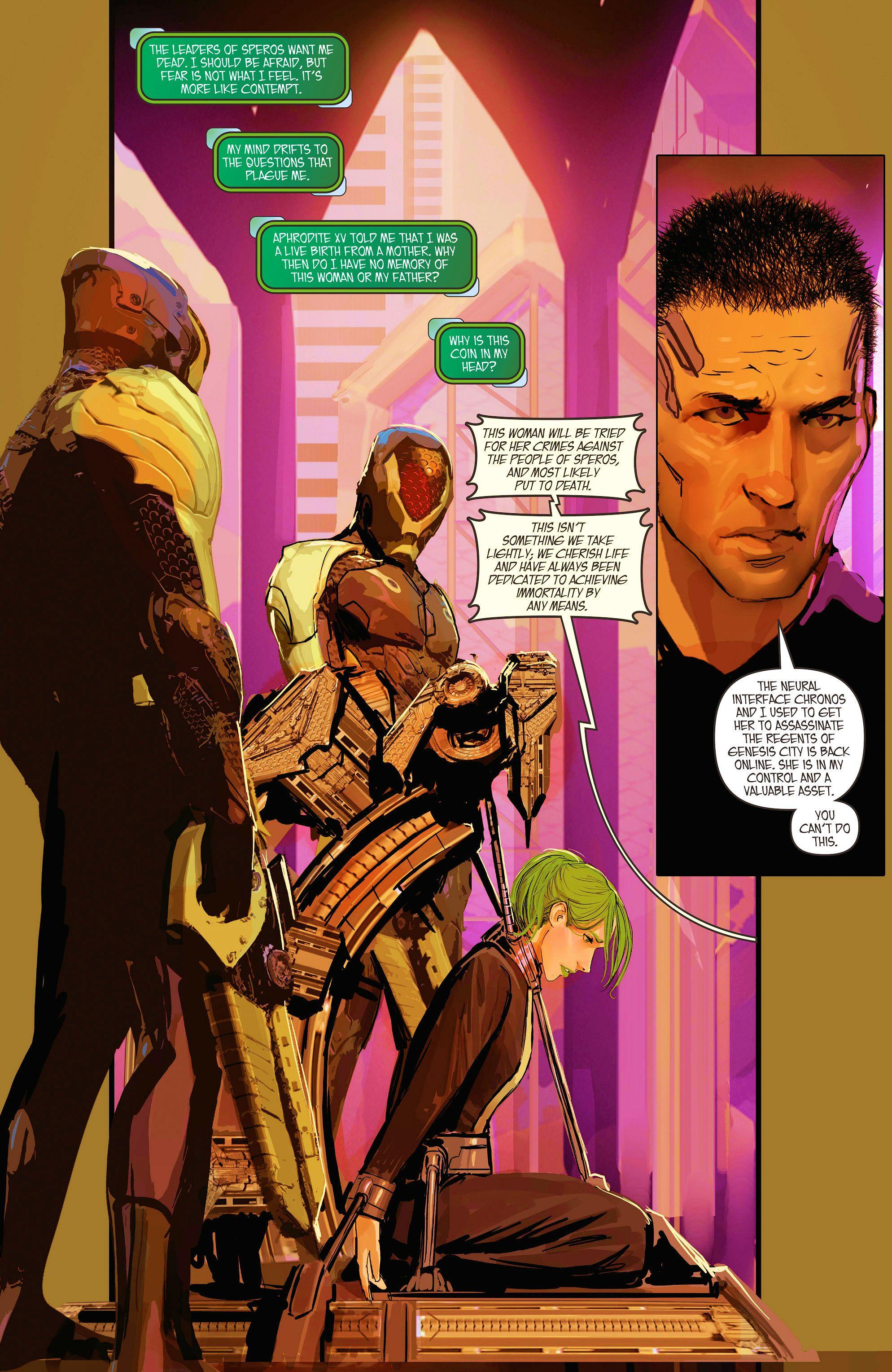 Read online Aphrodite IX (2013) comic -  Issue #10 - 12