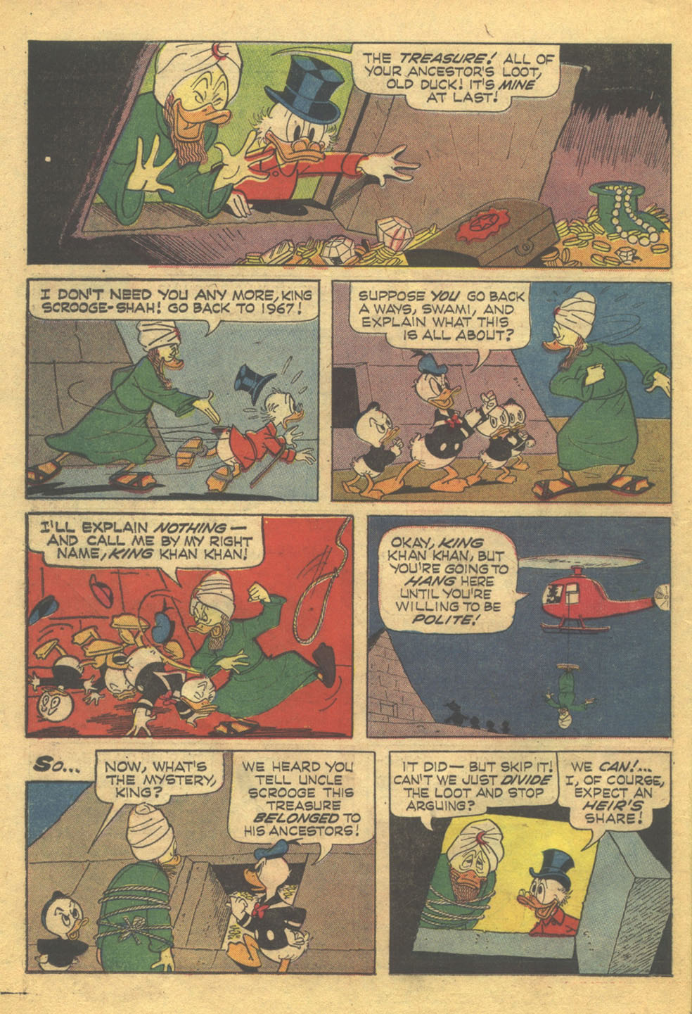 Read online Uncle Scrooge (1953) comic -  Issue #71 - 25