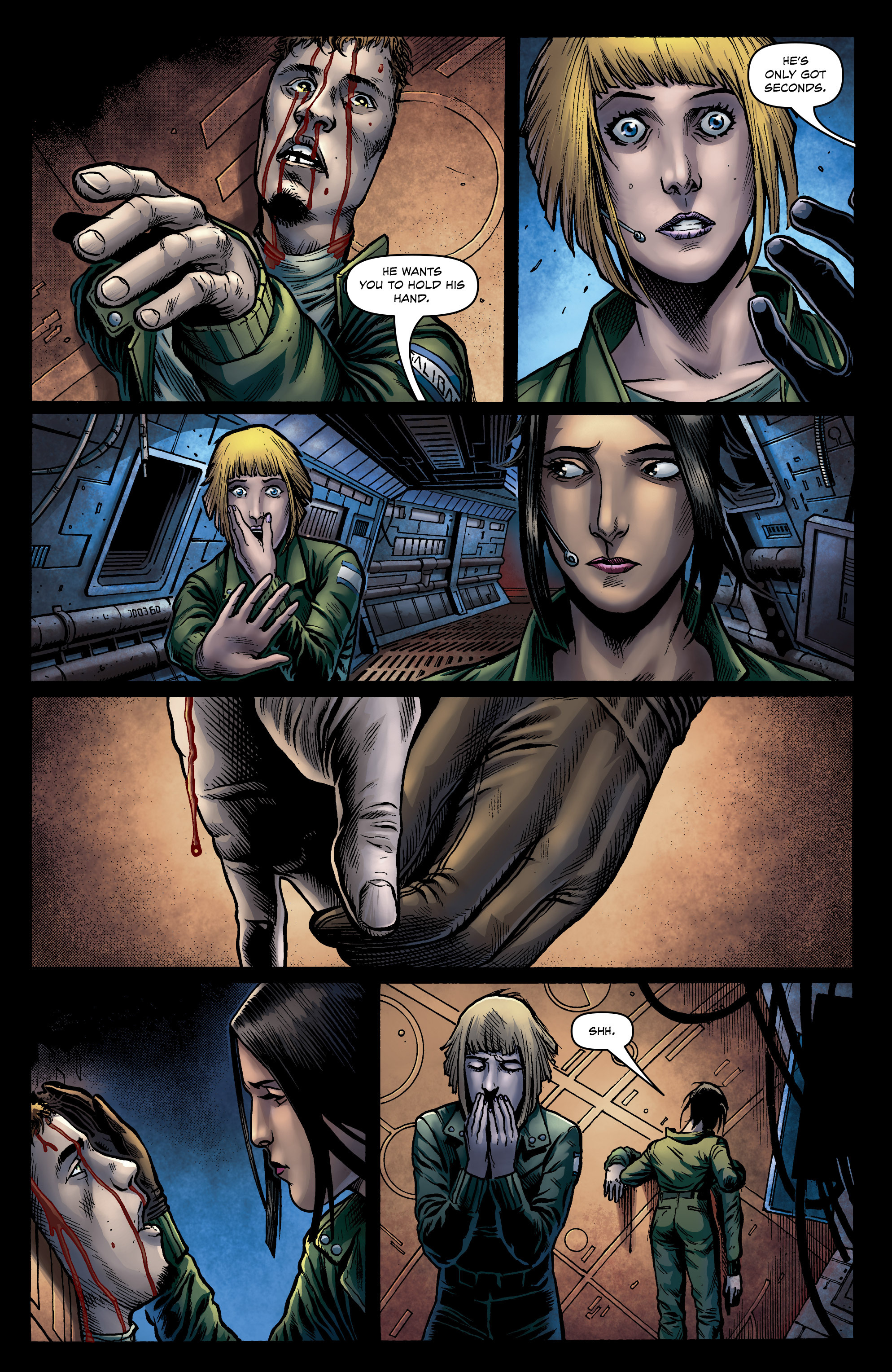 Read online Caliban comic -  Issue #1 - 23