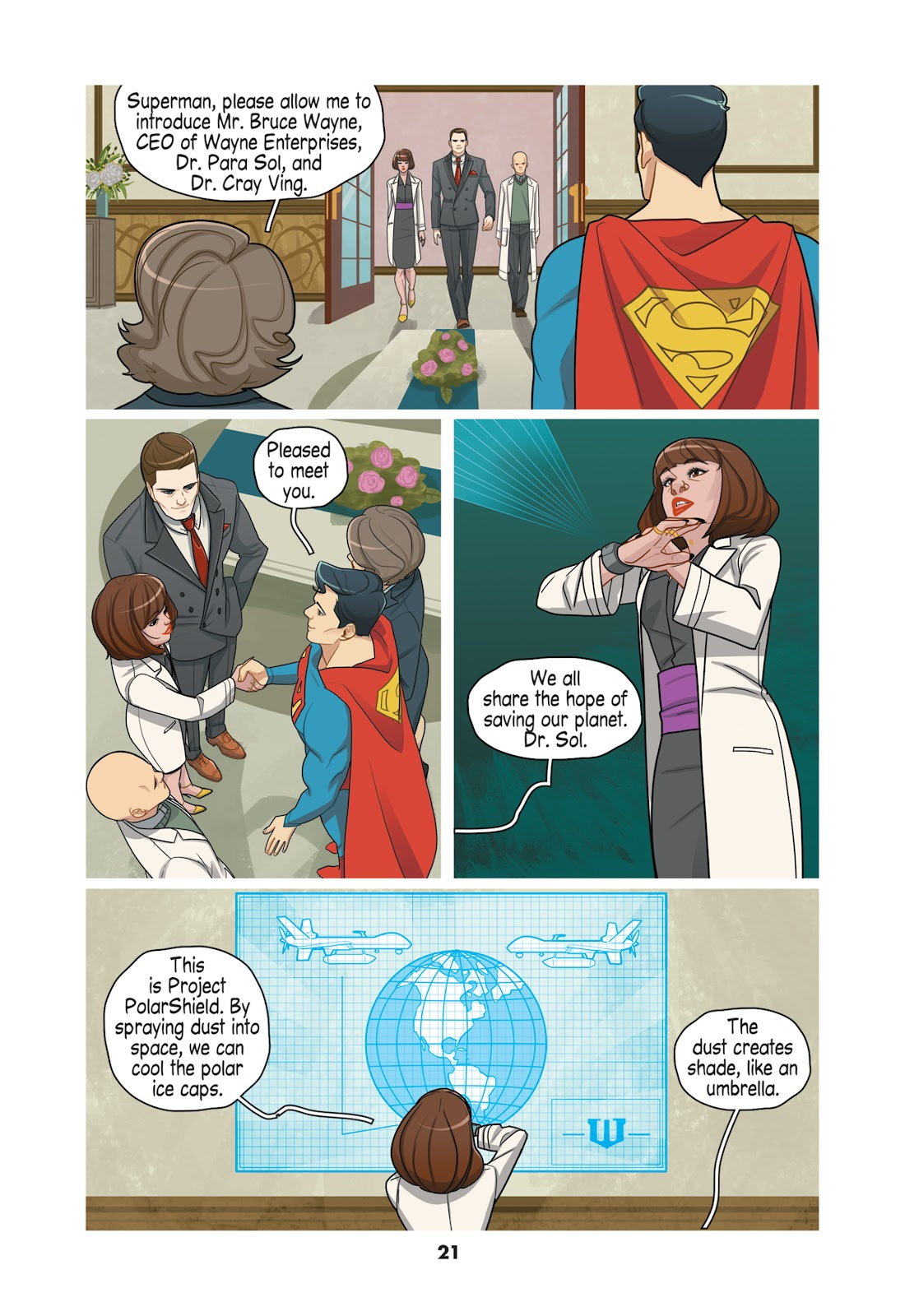 Read online Super Sons (2019) comic -  Issue # TPB The Polarshield Project (Part 1) - 19
