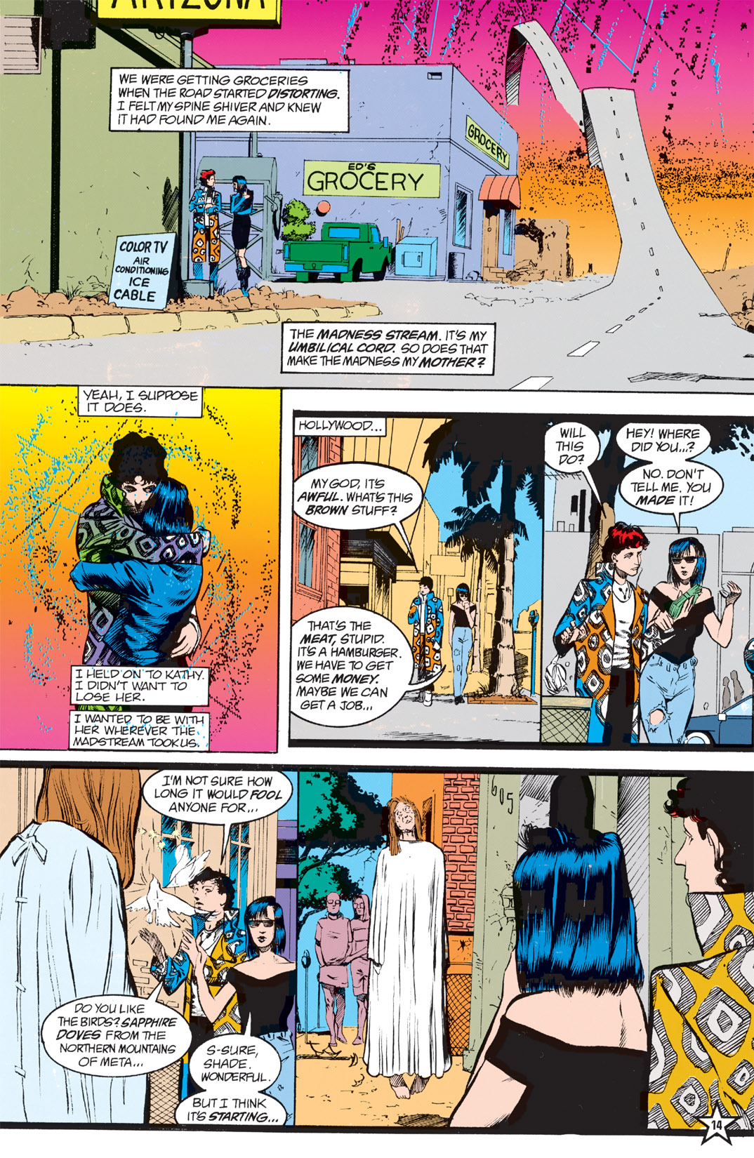 Read online Shade, the Changing Man comic -  Issue #5 - 16