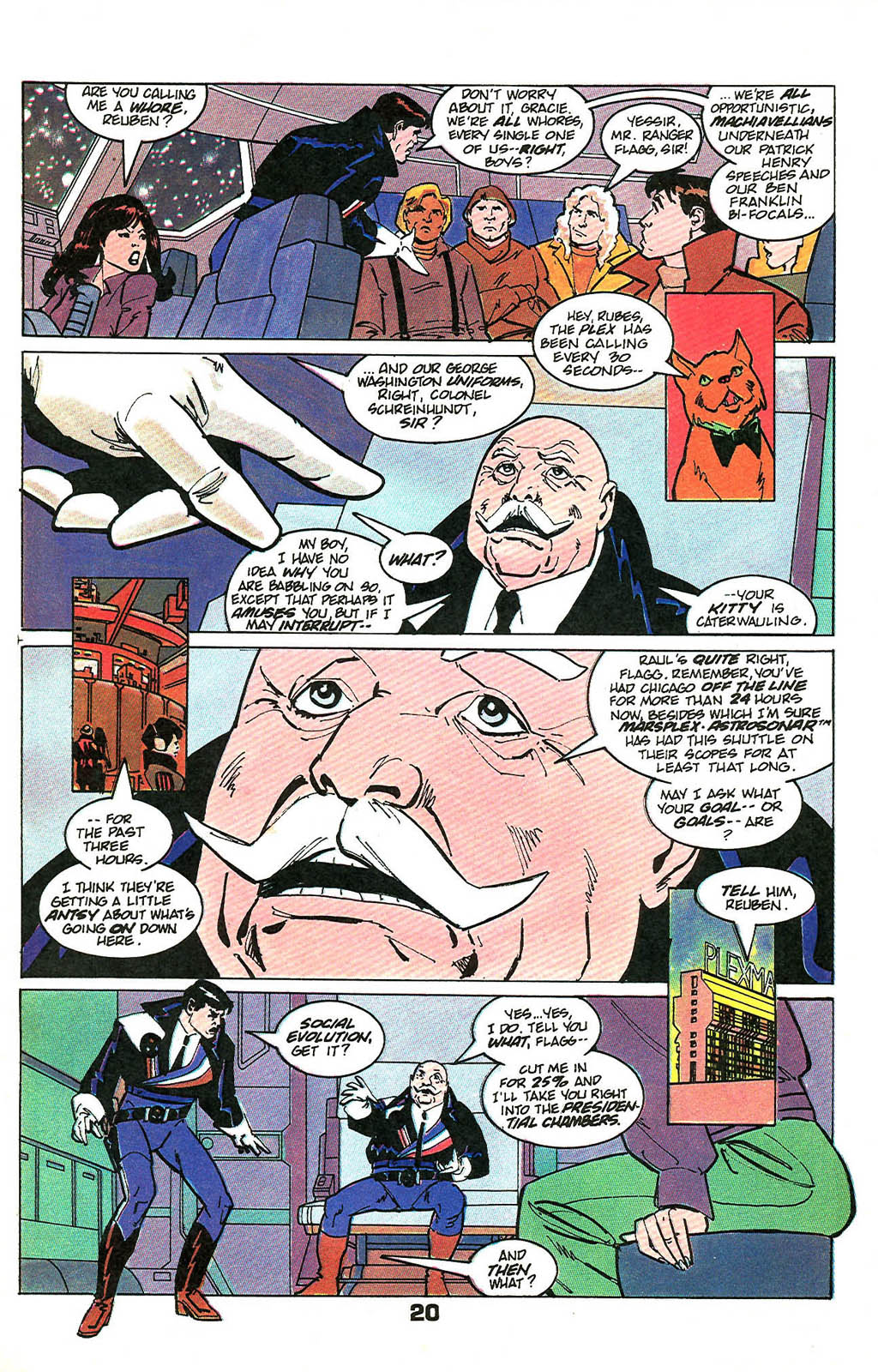 Read online American Flagg! comic -  Issue #49 - 26