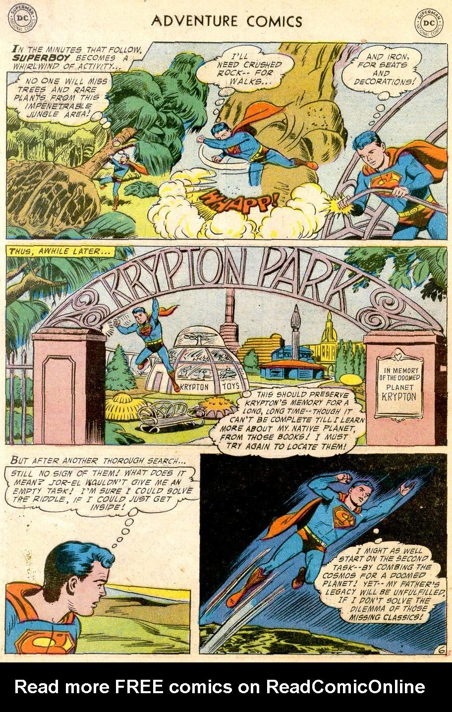 Read online Adventure Comics (1938) comic -  Issue #232 - 8