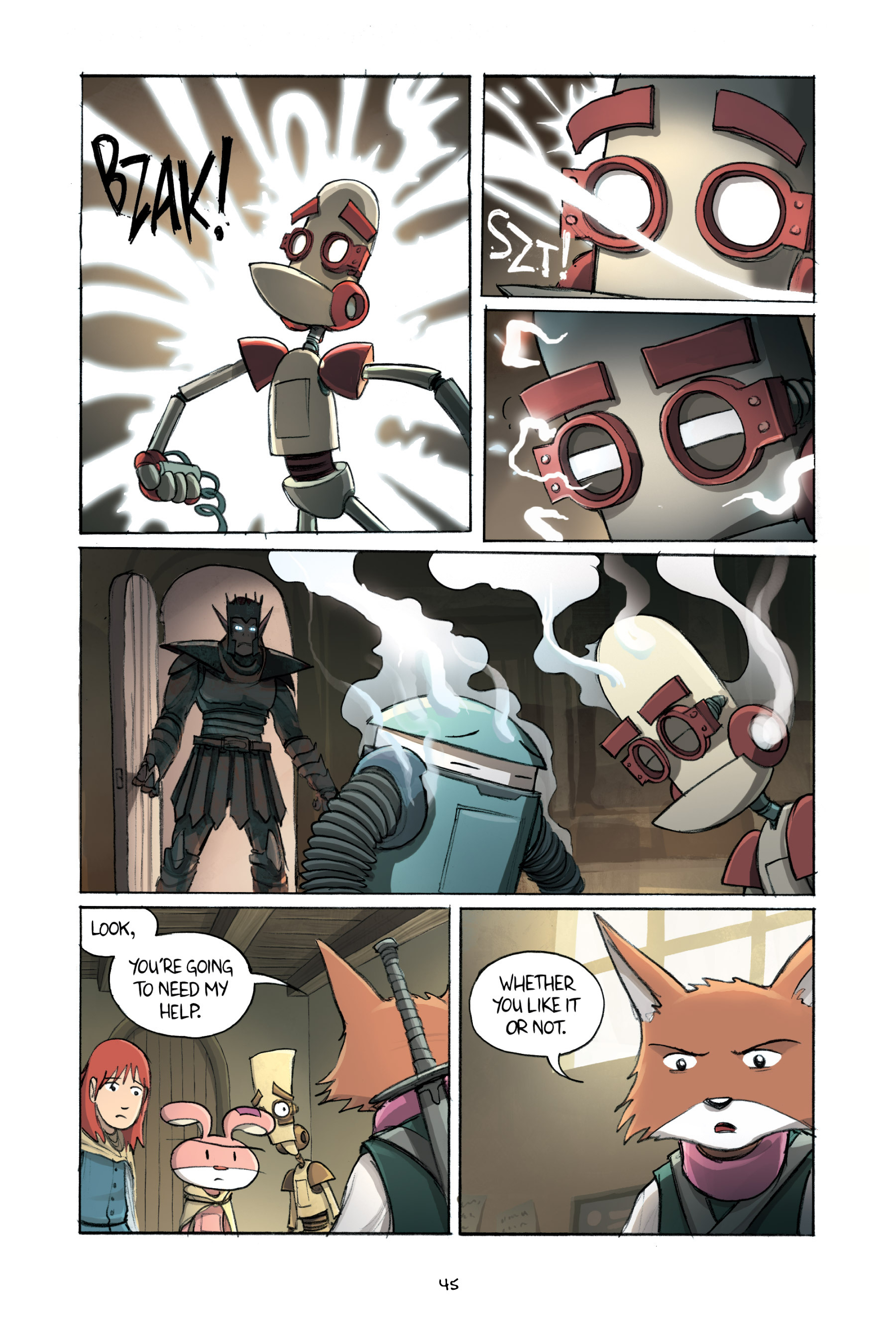 Read online Amulet comic -  Issue #2 - 47