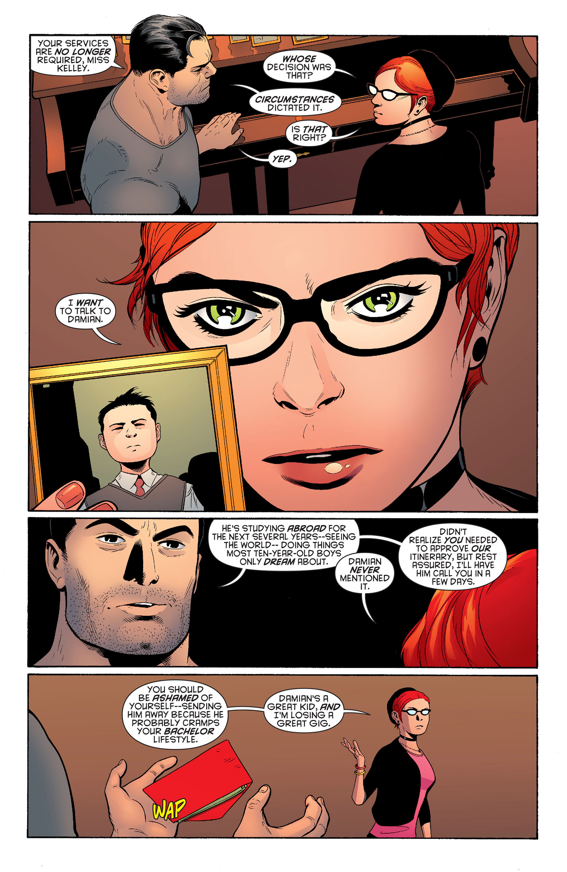 Read online Batman and Robin (2011) comic -  Issue #20 - 6