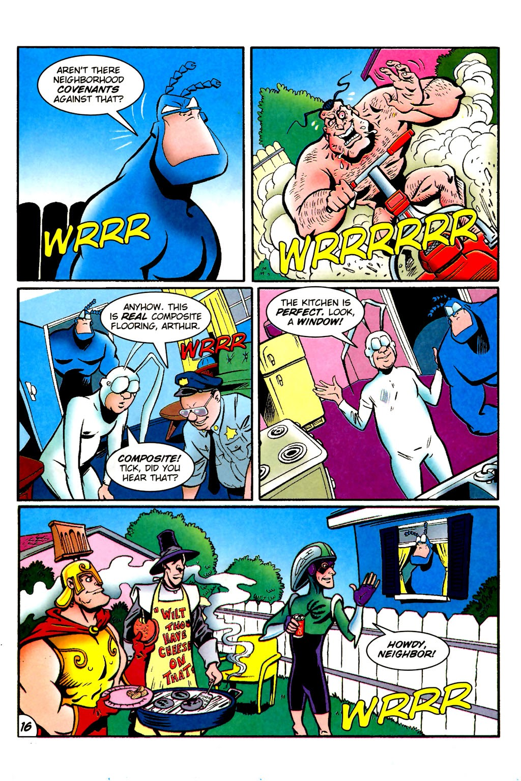 Read online The Tick: Days of Drama comic -  Issue #1 - 20