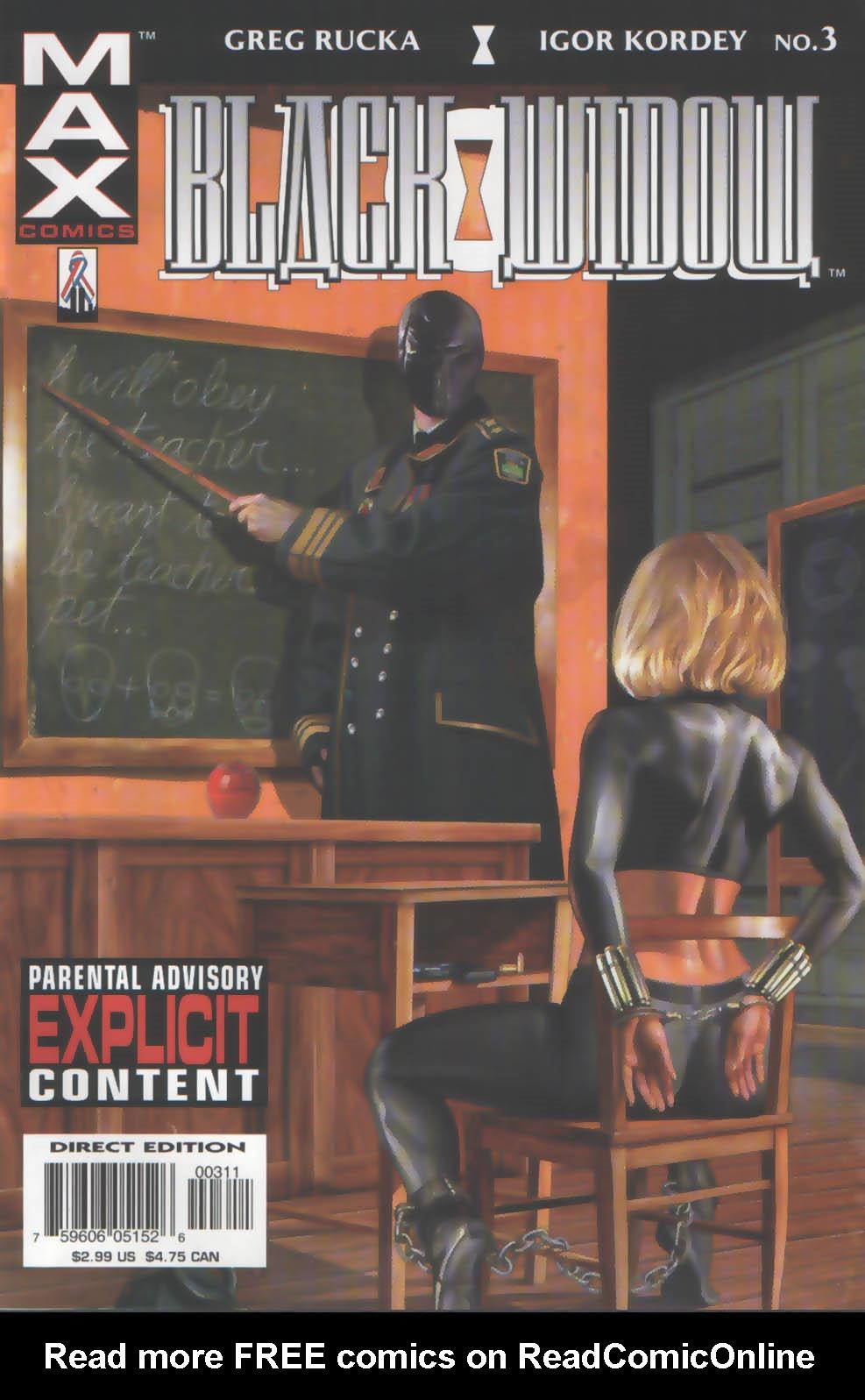 Black Widow: Pale Little Spider 3 Page 1