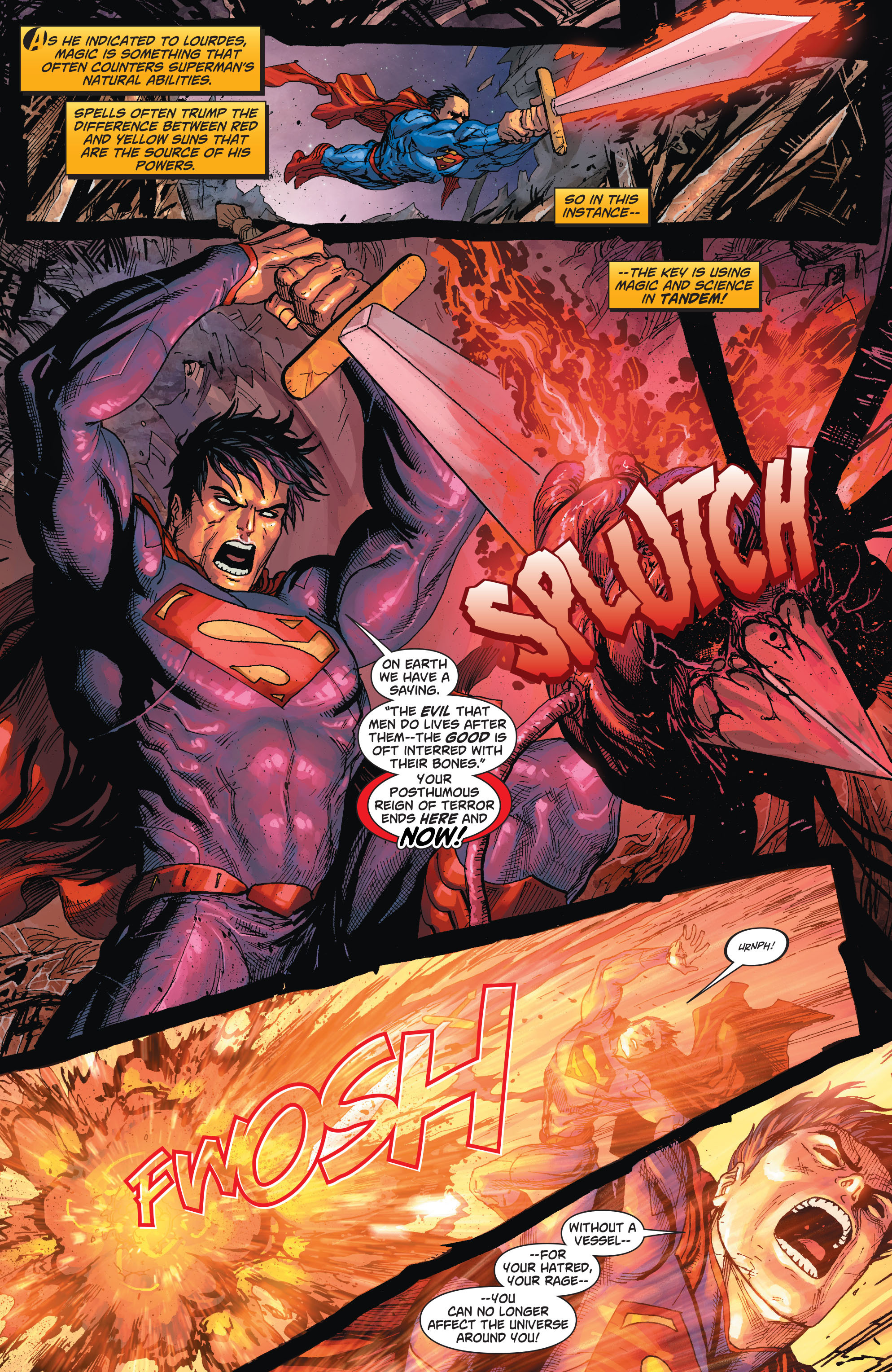 Read online Action Comics (2011) comic -  Issue #23 - 15