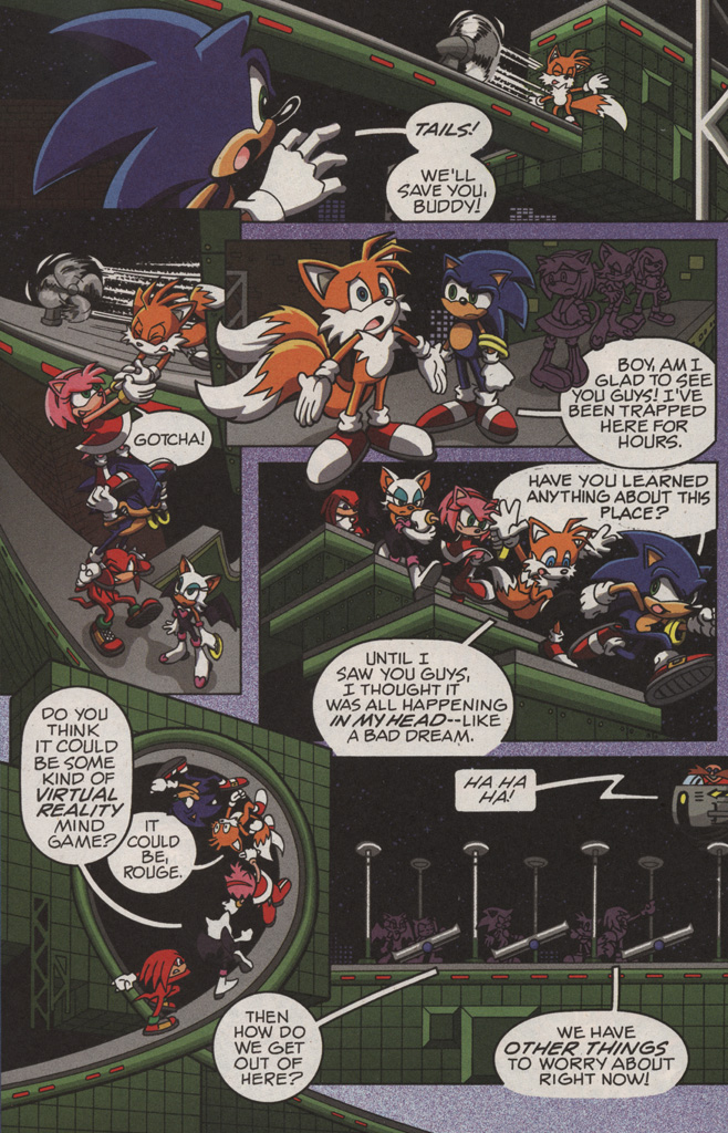 Read online Sonic X comic -  Issue #11 - 20