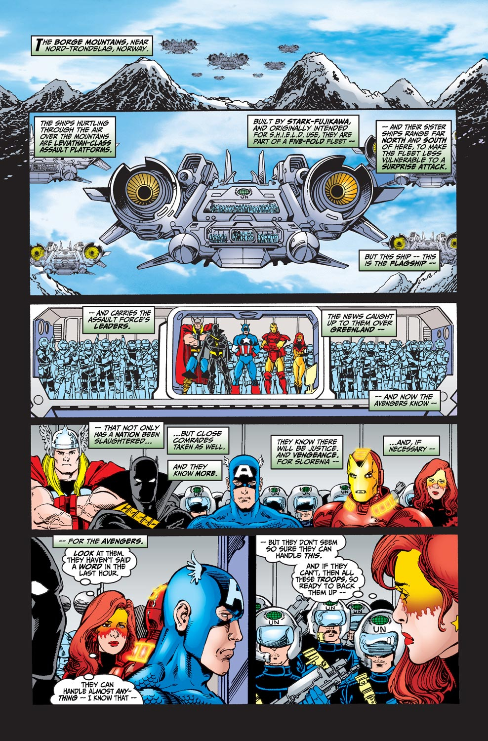 Read online Avengers (1998) comic -  Issue #20 - 20