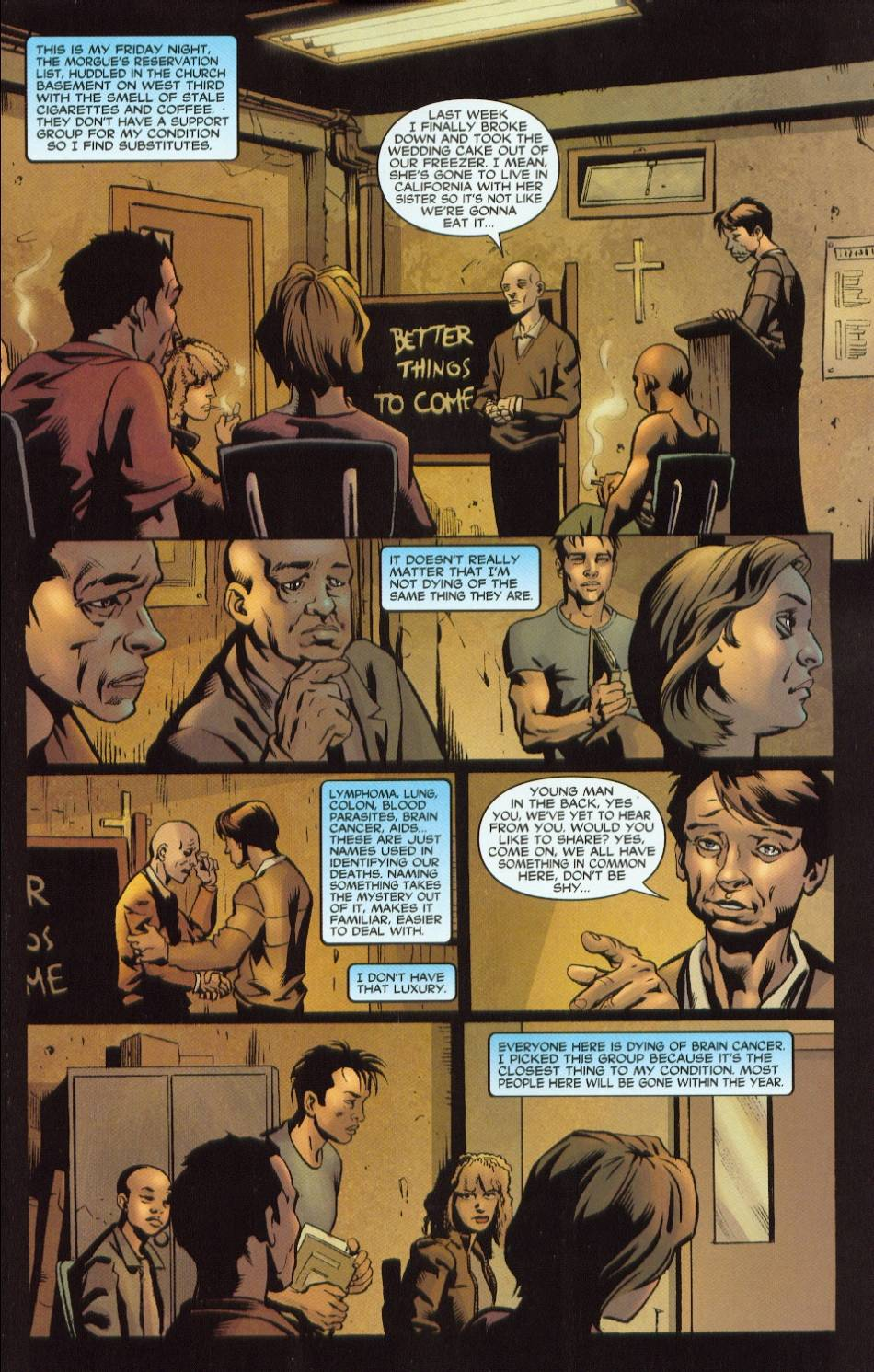 Read online 21 Down comic -  Issue #1 - 4