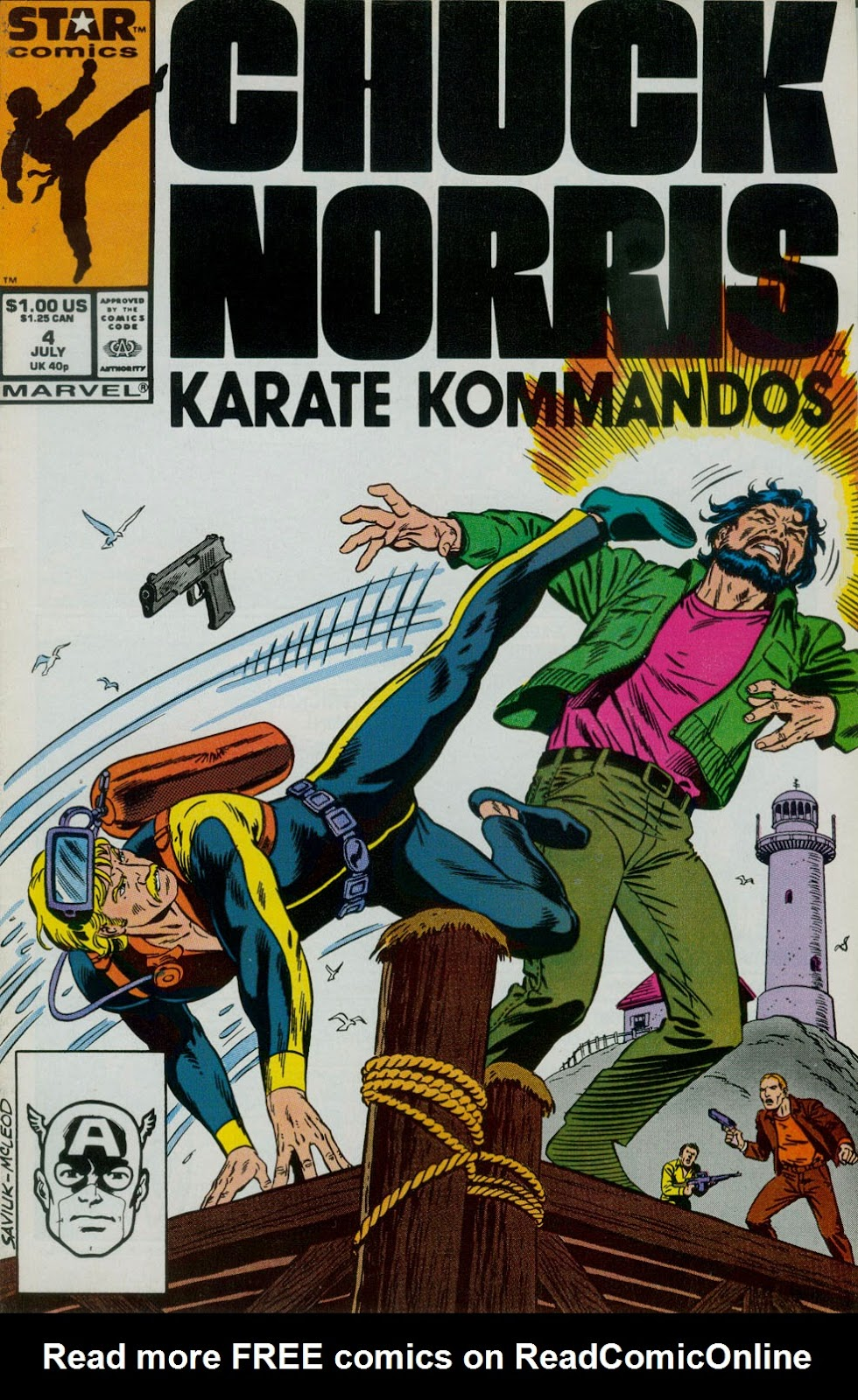 Chuck Norris and the Karate Kommandos 4 Page 1