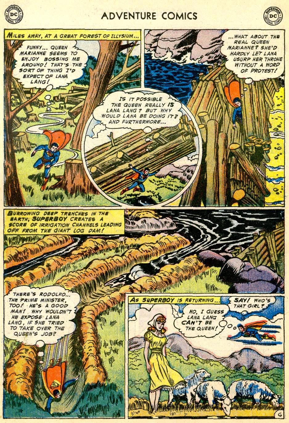 Read online Adventure Comics (1938) comic -  Issue #192 - 8