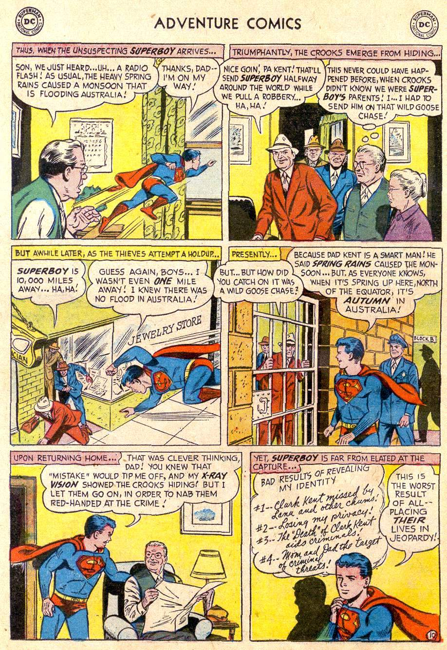Read online Adventure Comics (1938) comic -  Issue #235 - 12