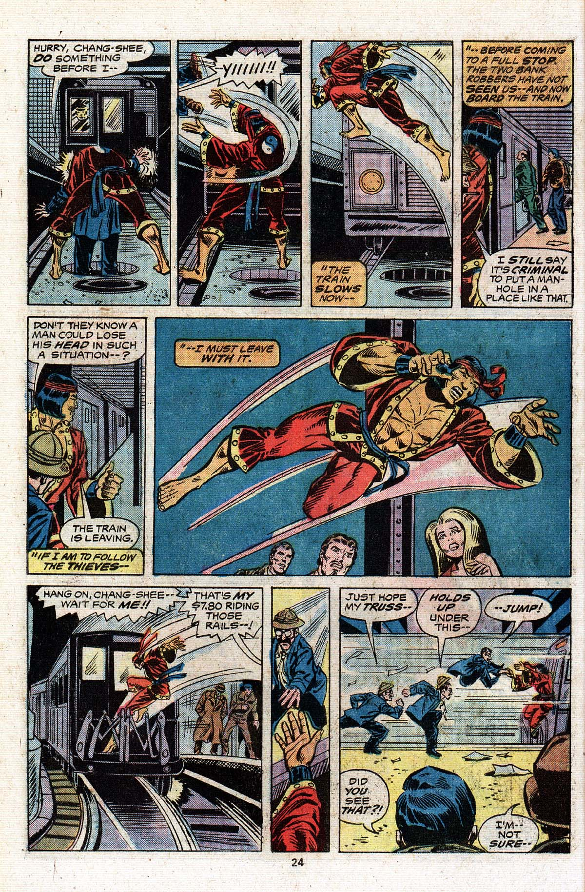 Read online Giant-Size Master of Kung Fu comic -  Issue #4 - 21