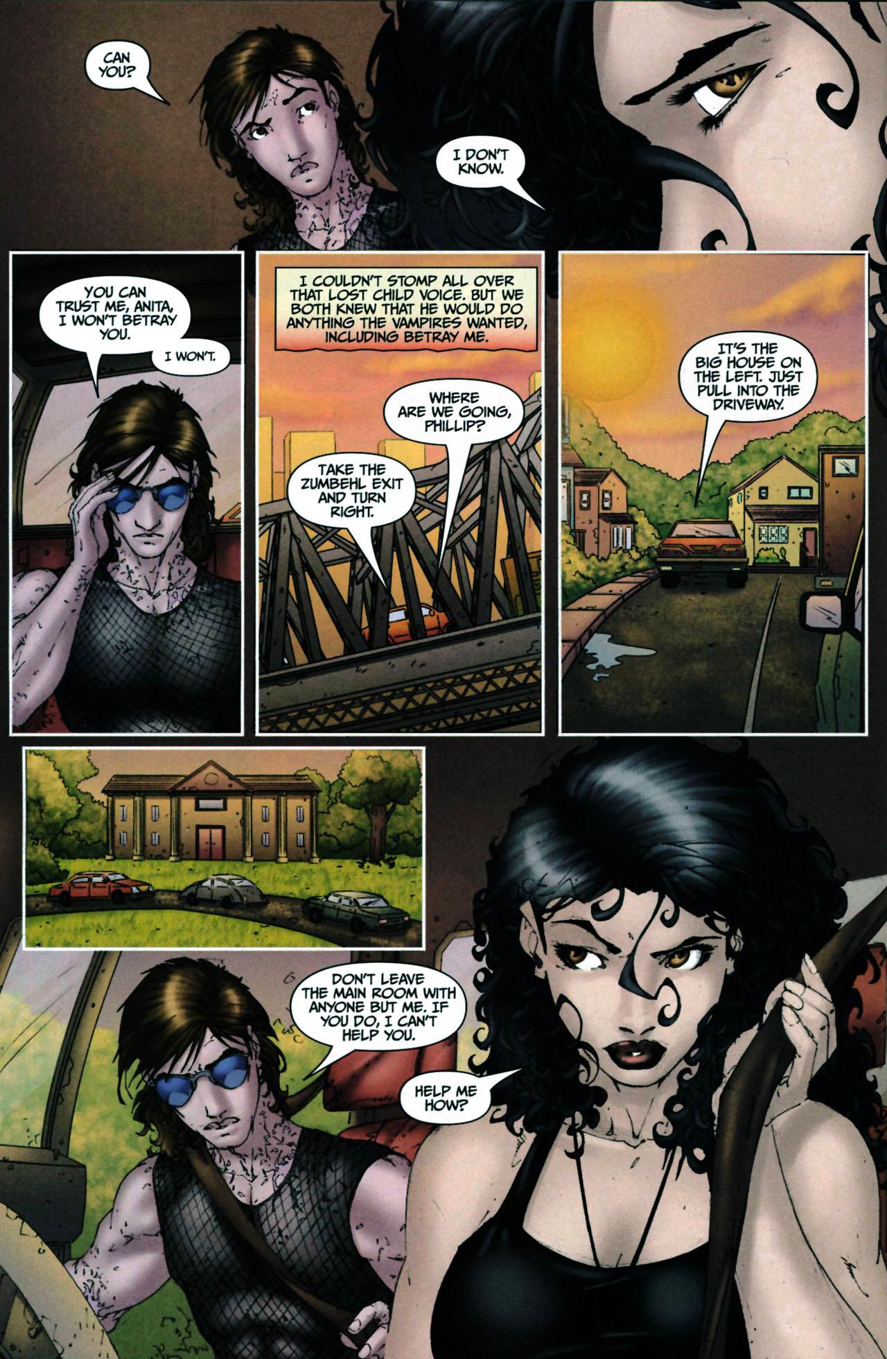 Read online Anita Blake, Vampire Hunter: Guilty Pleasures comic -  Issue #6 - 14