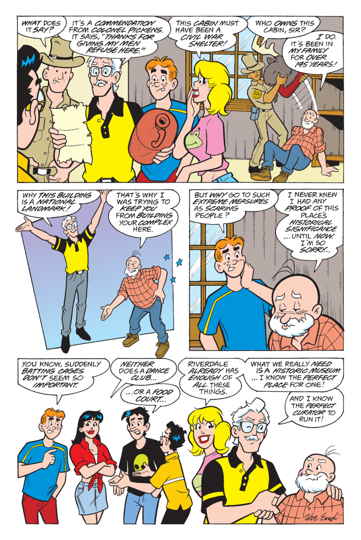 Read online Archie's Weird Mysteries comic -  Issue #23 - 19
