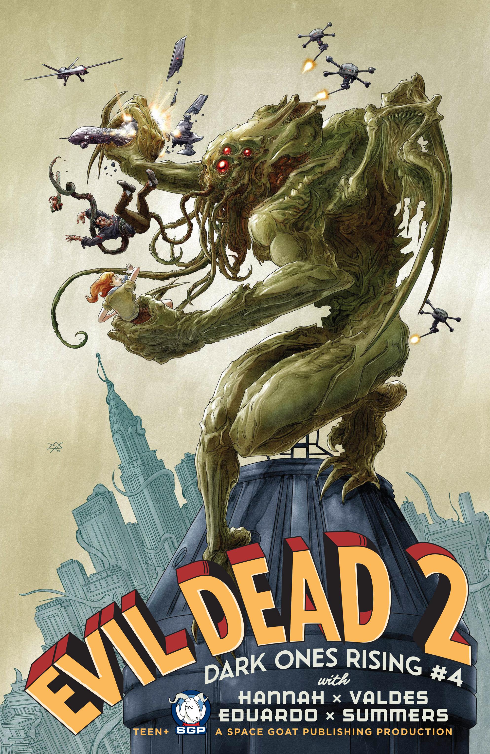 Evil Dead 2: Dark Ones Rising 4 Page 1