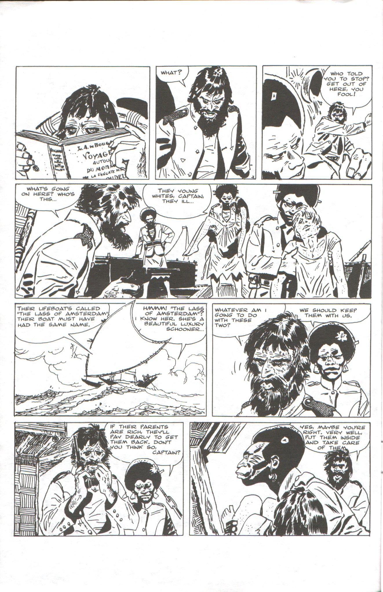 Read online Corto Maltese: Ballad of the Salt Sea comic -  Issue #1 - 4