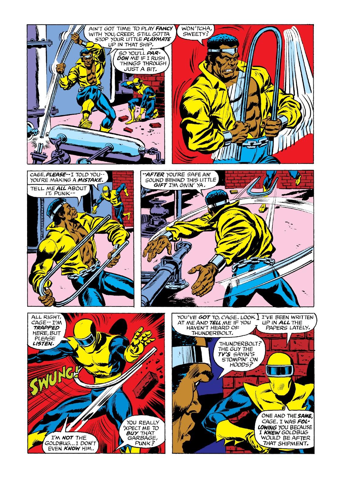 Read online Marvel Masterworks: Luke Cage, Power Man comic -  Issue # TPB 3 (Part 3) - 4