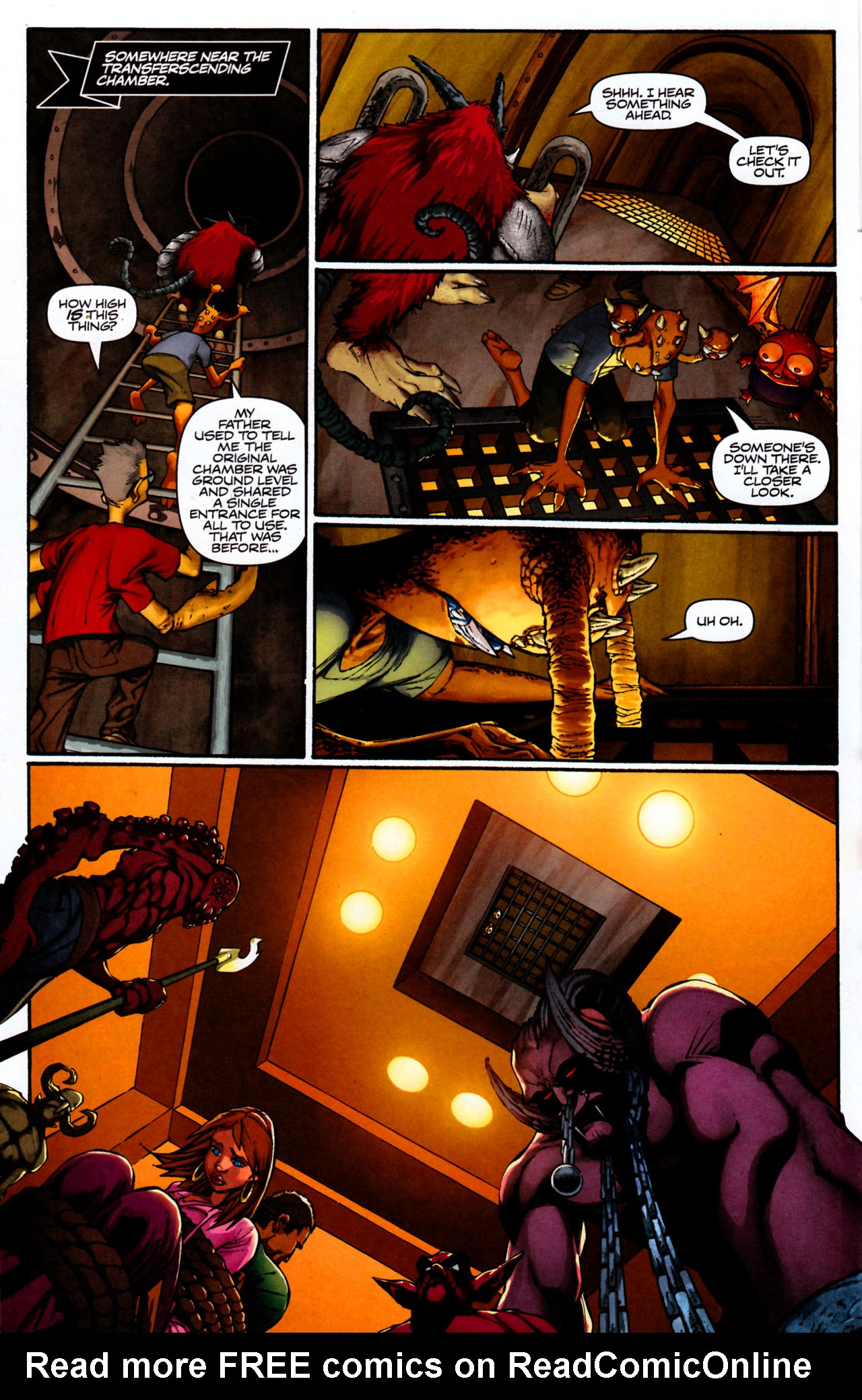 Read online Shrugged (2006) comic -  Issue #8 - 18
