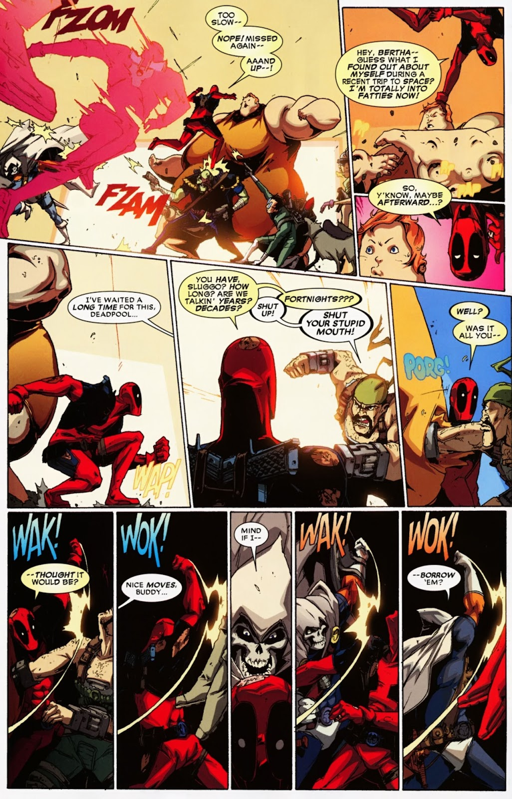 Read online Deadpool (2008) comic -  Issue #36 - 14