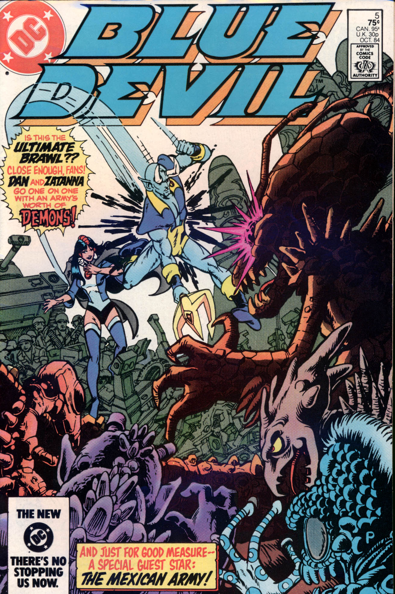 Blue Devil 5 Page 1