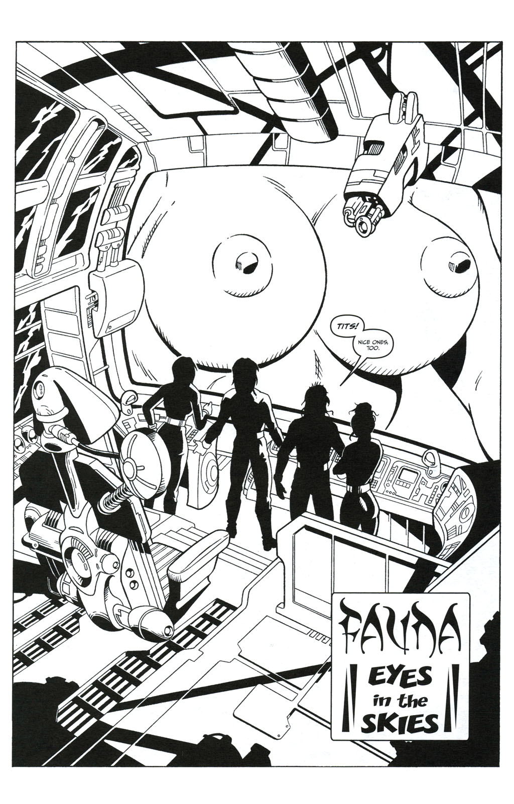 Read online Jungle Fantasy (2002) comic -  Issue #5 - 7
