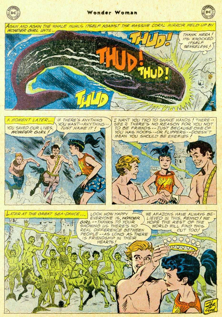 Read online Wonder Woman (1942) comic -  Issue #111 - 32