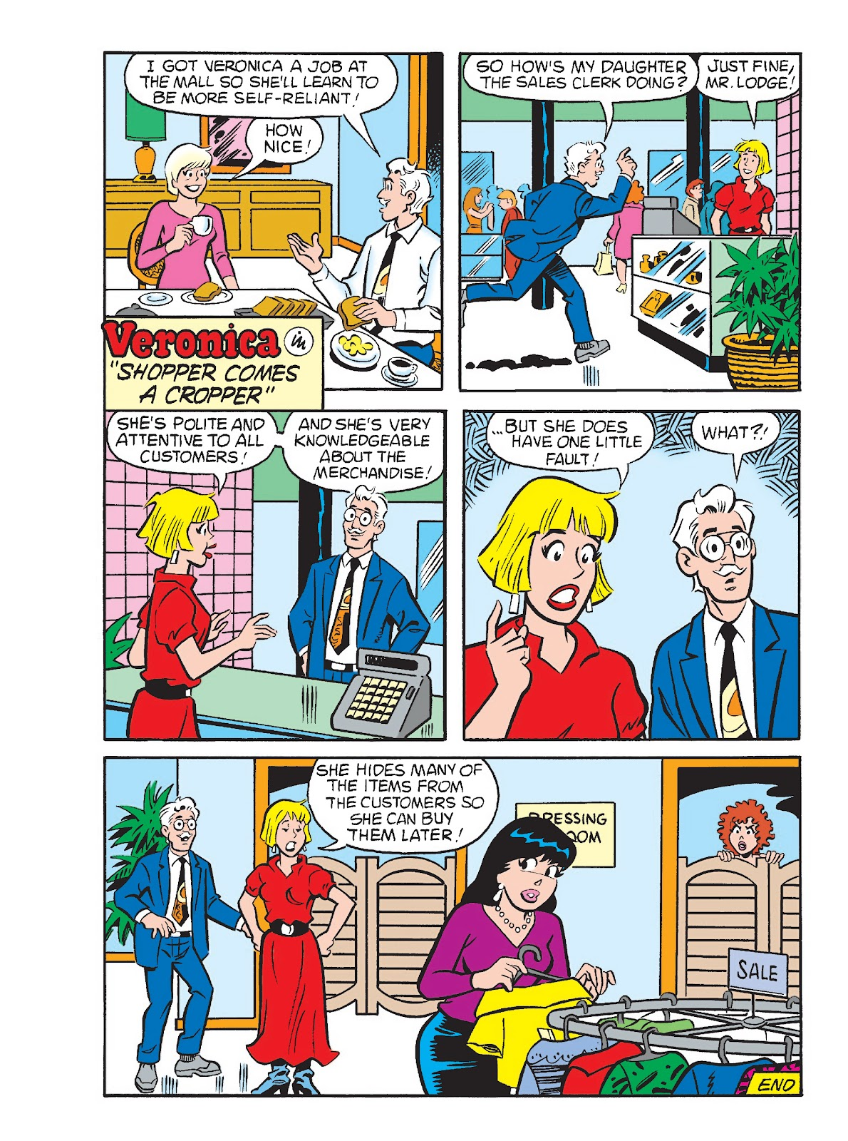 Betty and Veronica Double Digest issue 291 - Page 54