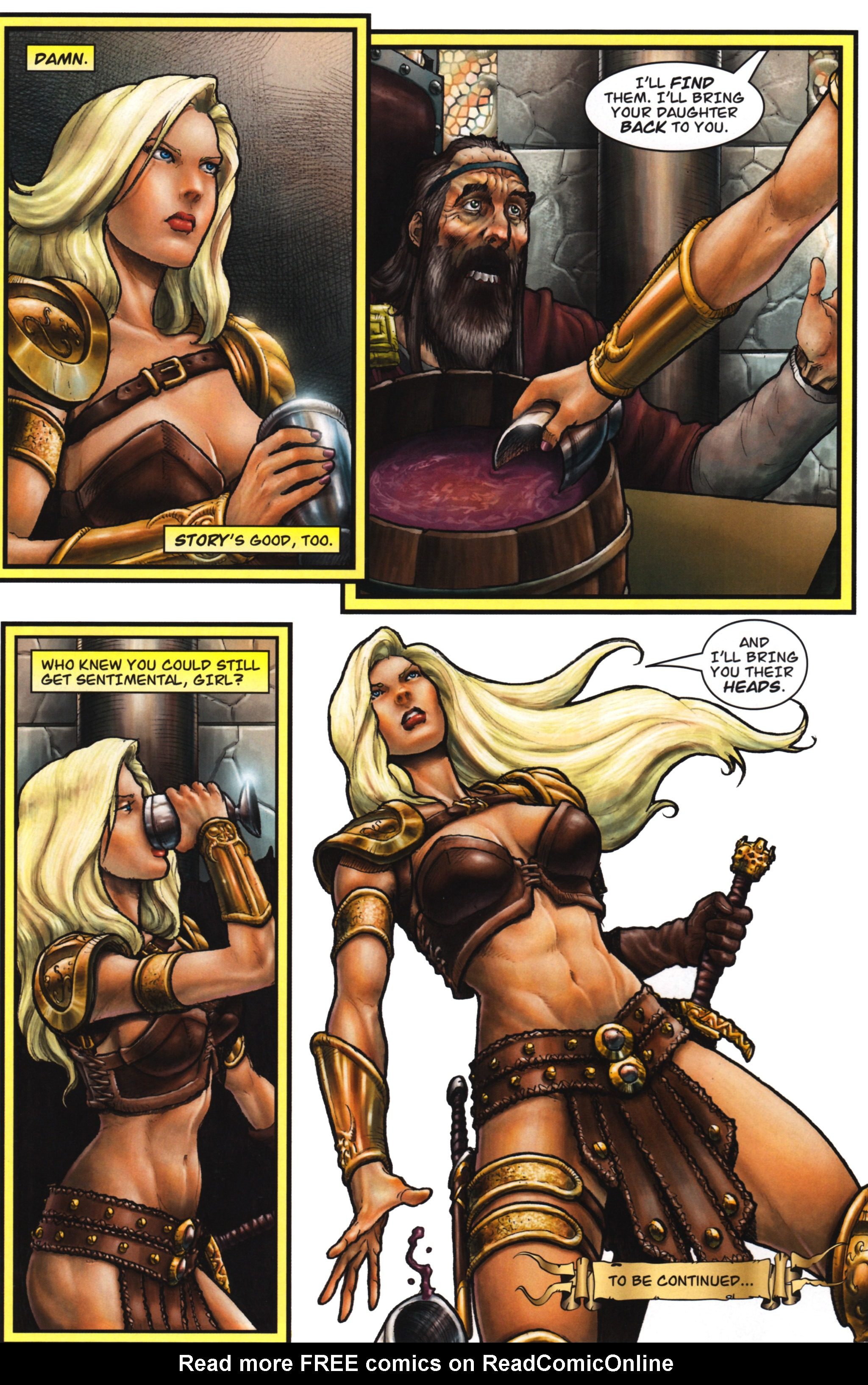 Read online Arhian: Head Huntress comic -  Issue #1 - 34