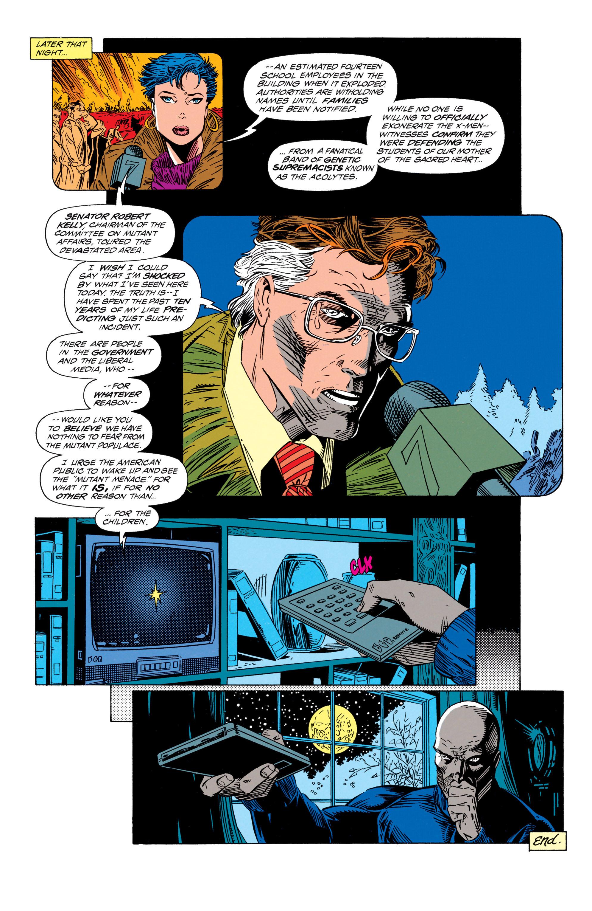 Read online Uncanny X-Men (1963) comic -  Issue #298 - 22