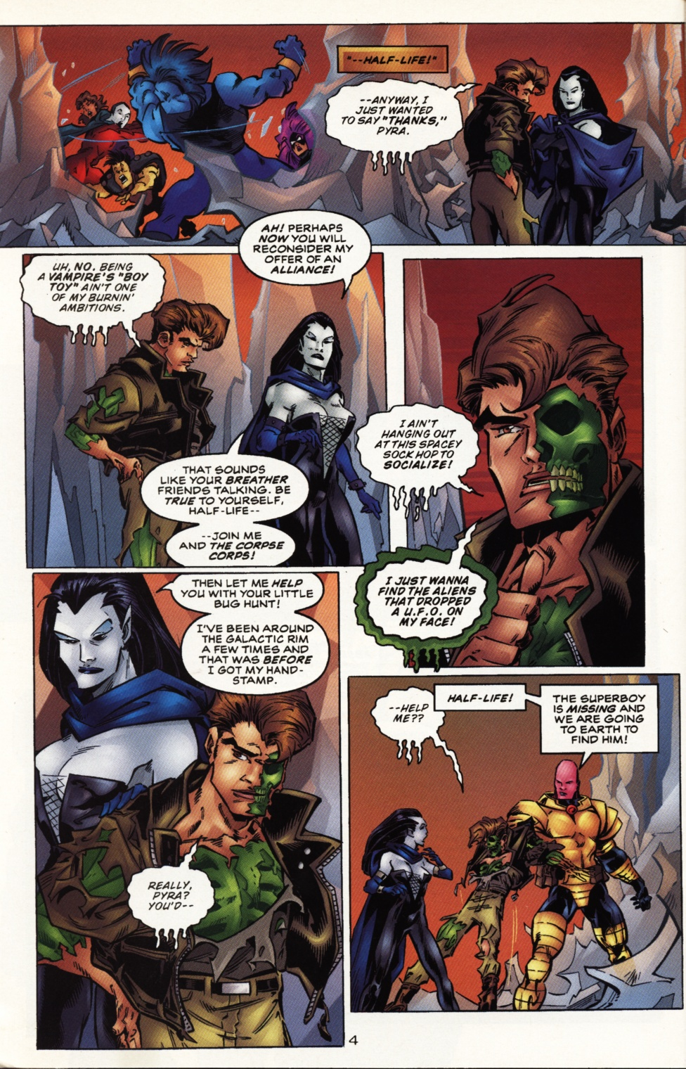 Read online Superboy & The Ravers comic -  Issue #10 - 5