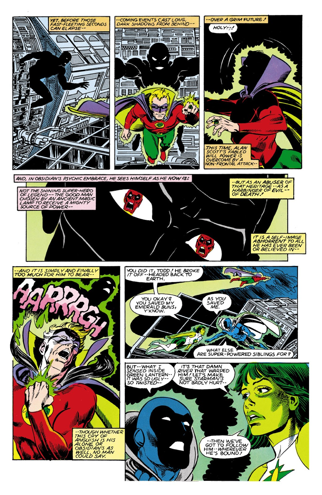 Infinity Inc. (1984) issue 9 - Page 12
