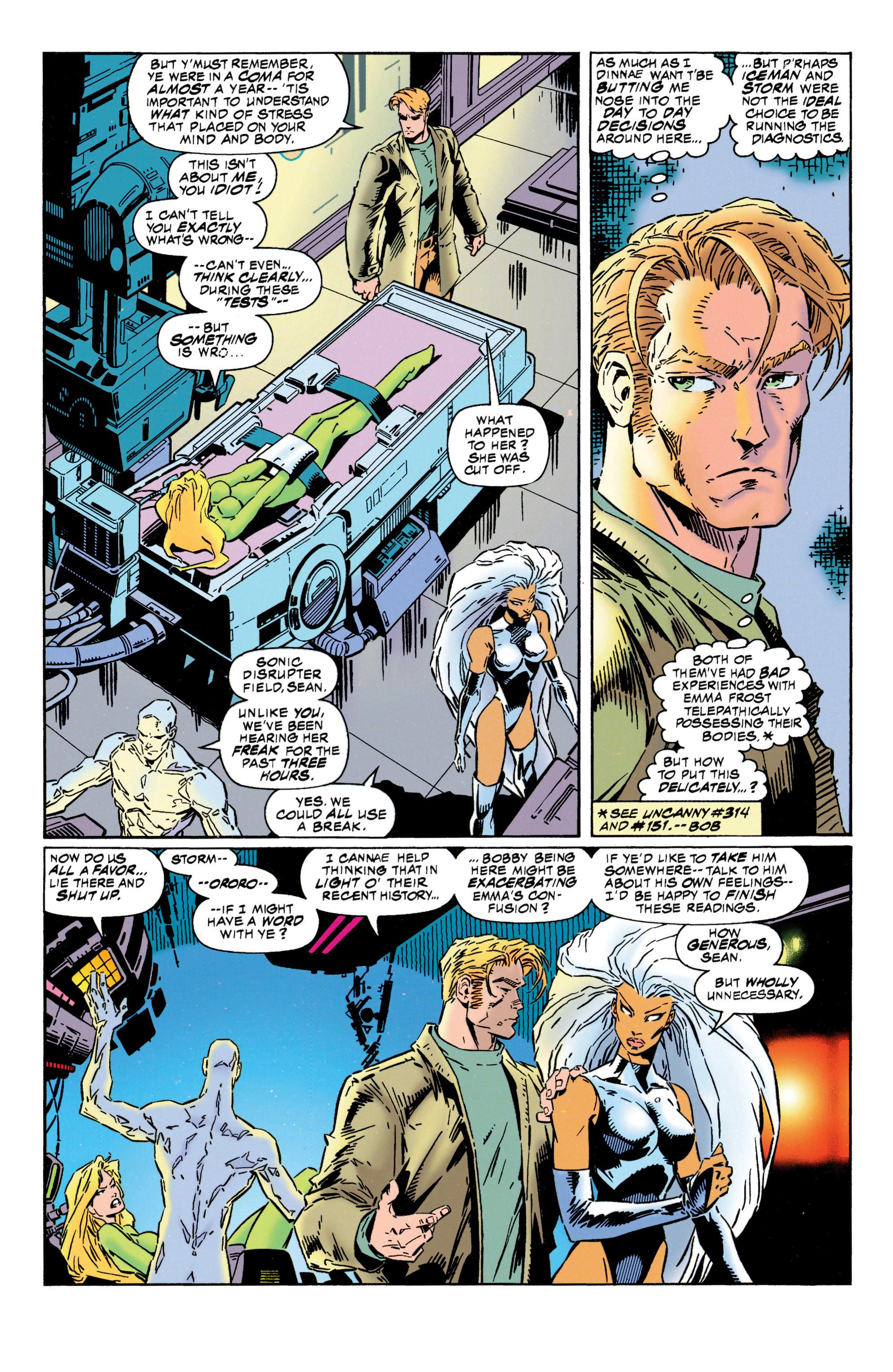 Read online Uncanny X-Men (1963) comic -  Issue #316 - 8