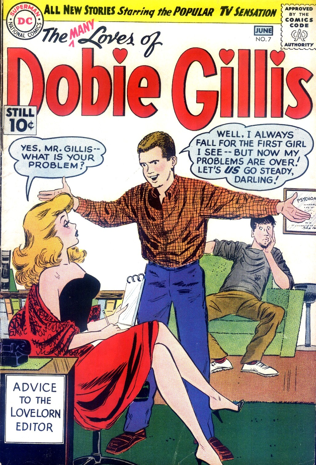 Many Loves of Dobie Gillis issue 7 - Page 1